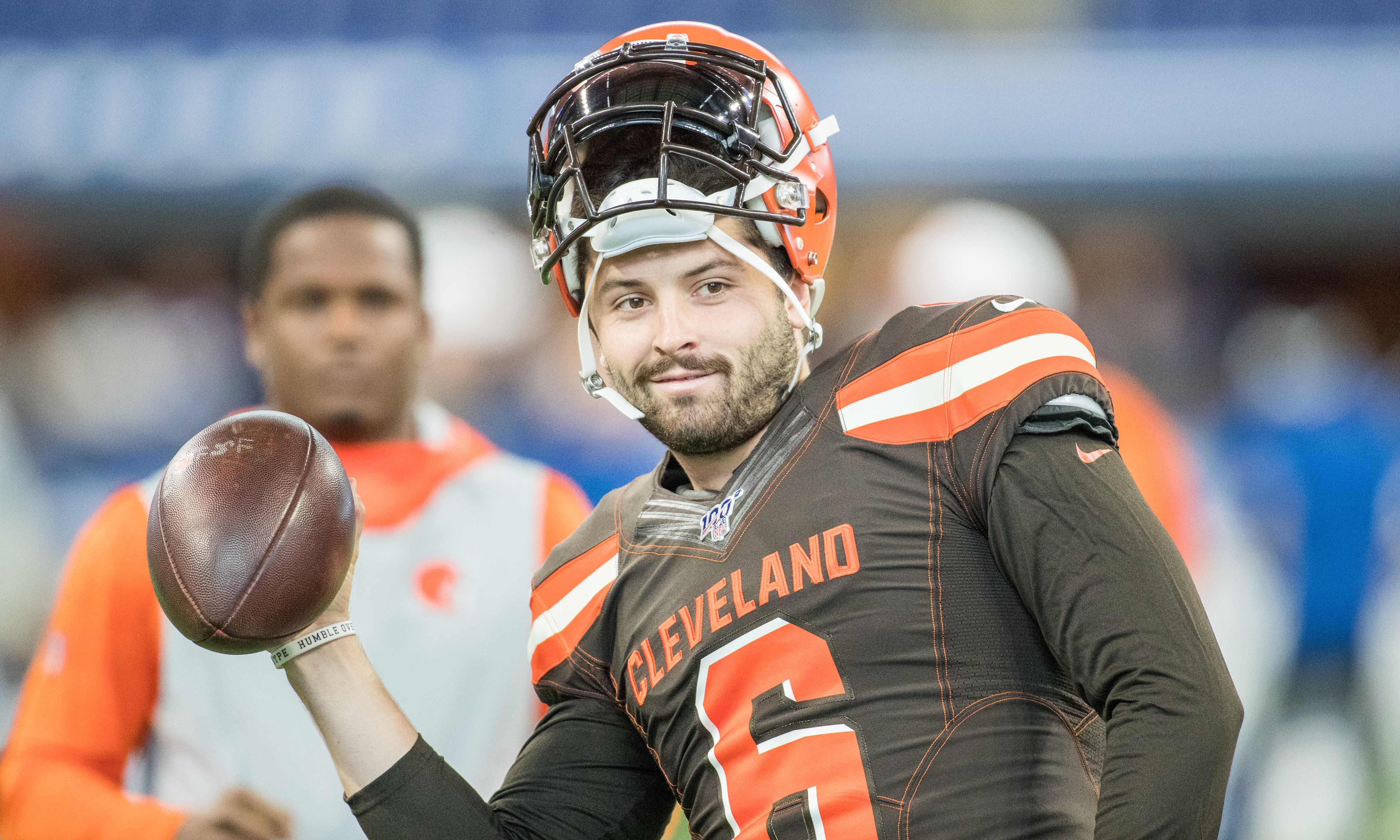 'Blows my mind': Cleveland's Baker Mayfield drags Giants for Daniel Jones pick