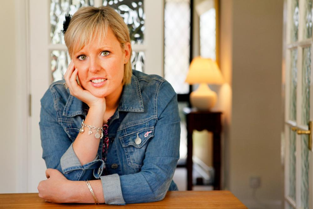 Lisa Lynch at home in 2010.