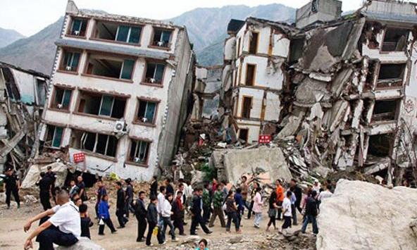 The disaster in Nepal after the earthquake