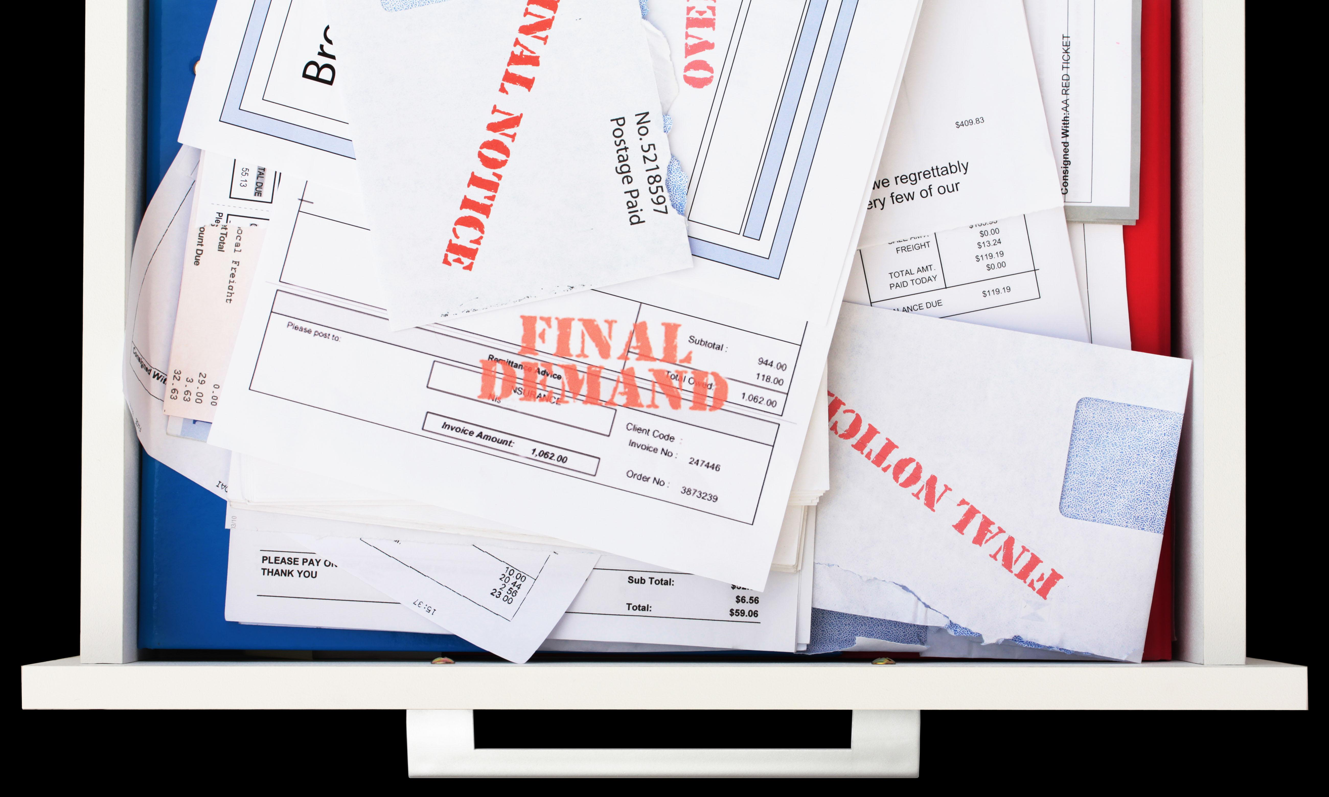 'I have no money': debt collection continues in US despite pandemic