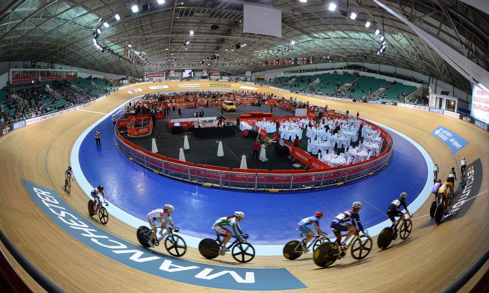 The Manchester velodrome will host the British Track Championships.