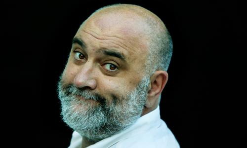 Alexei Sayle writer and comedian.