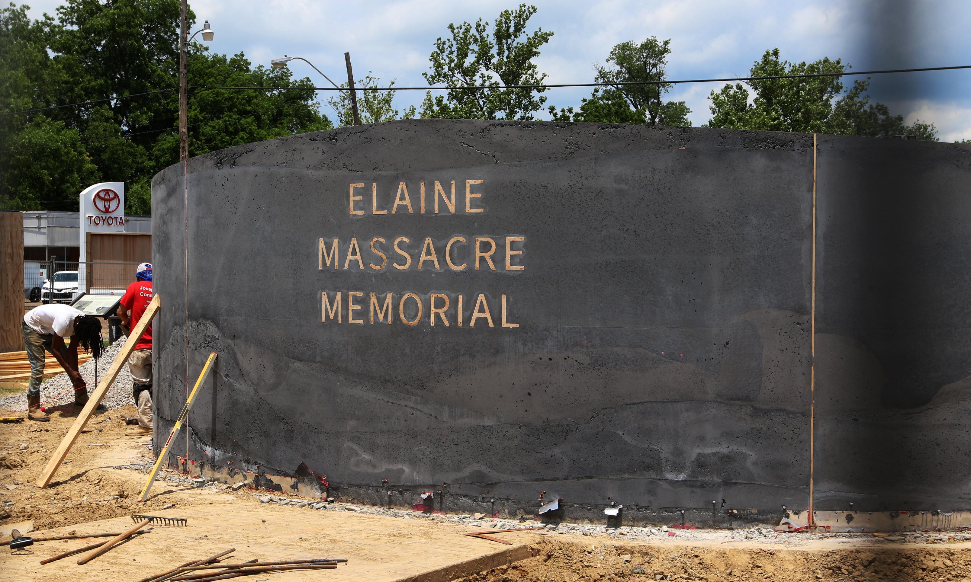 Arkansas: tree honoring 1919 Elaine Massacre victims cut down