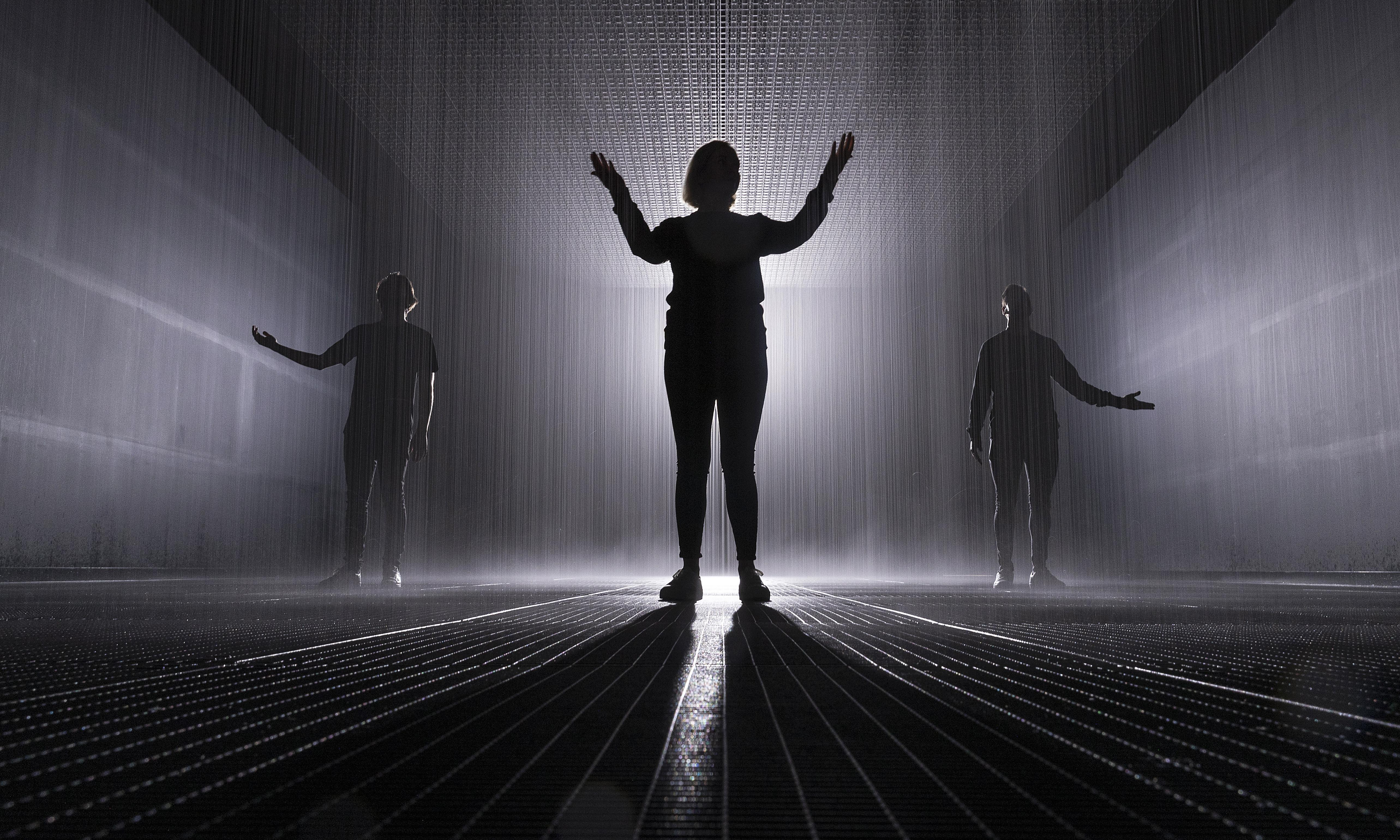 Rain Room offers art lovers – and Instagrammers – the perfect storm