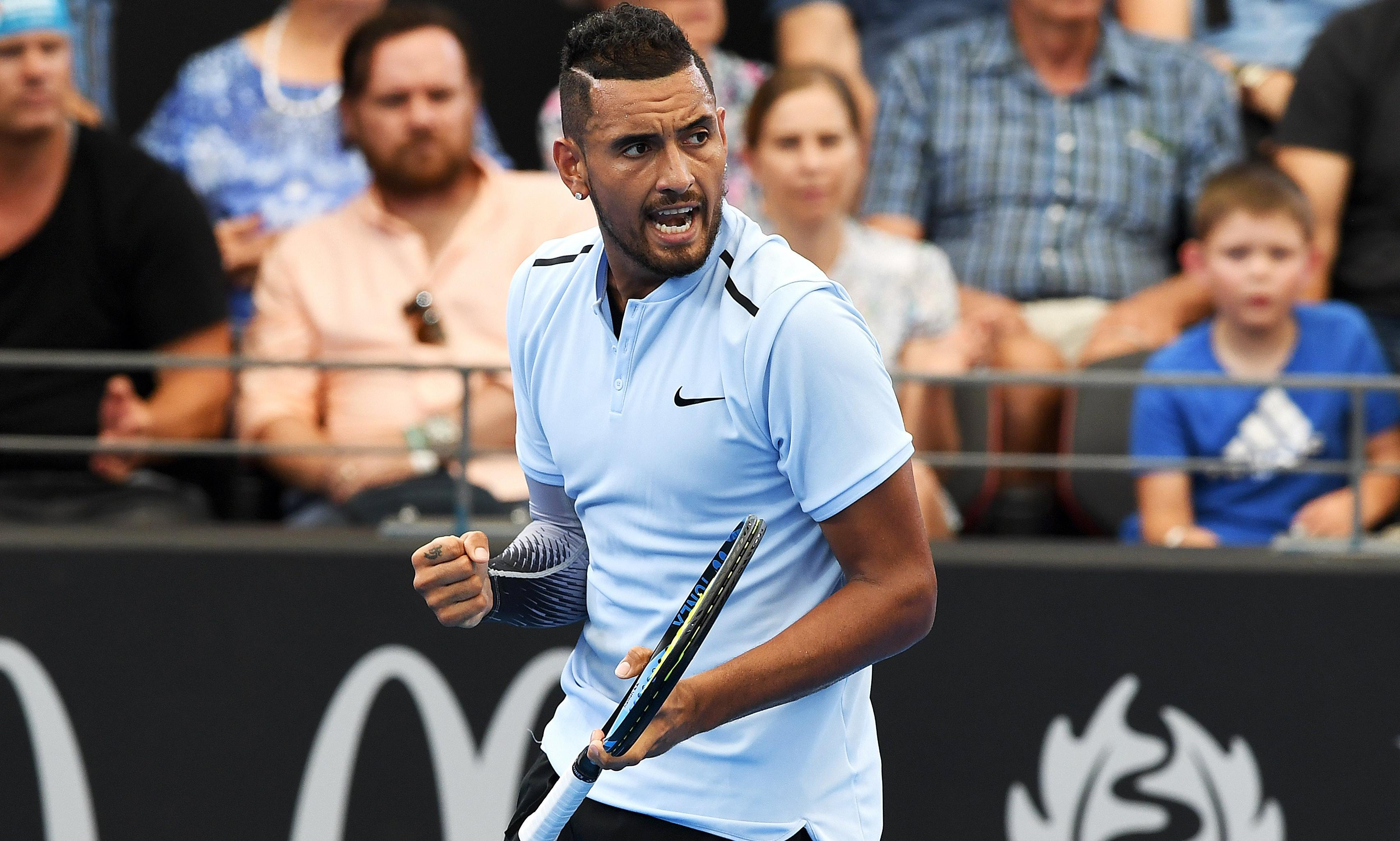 Tennis: Nick Kyrgios through to Brisbane semi-finals