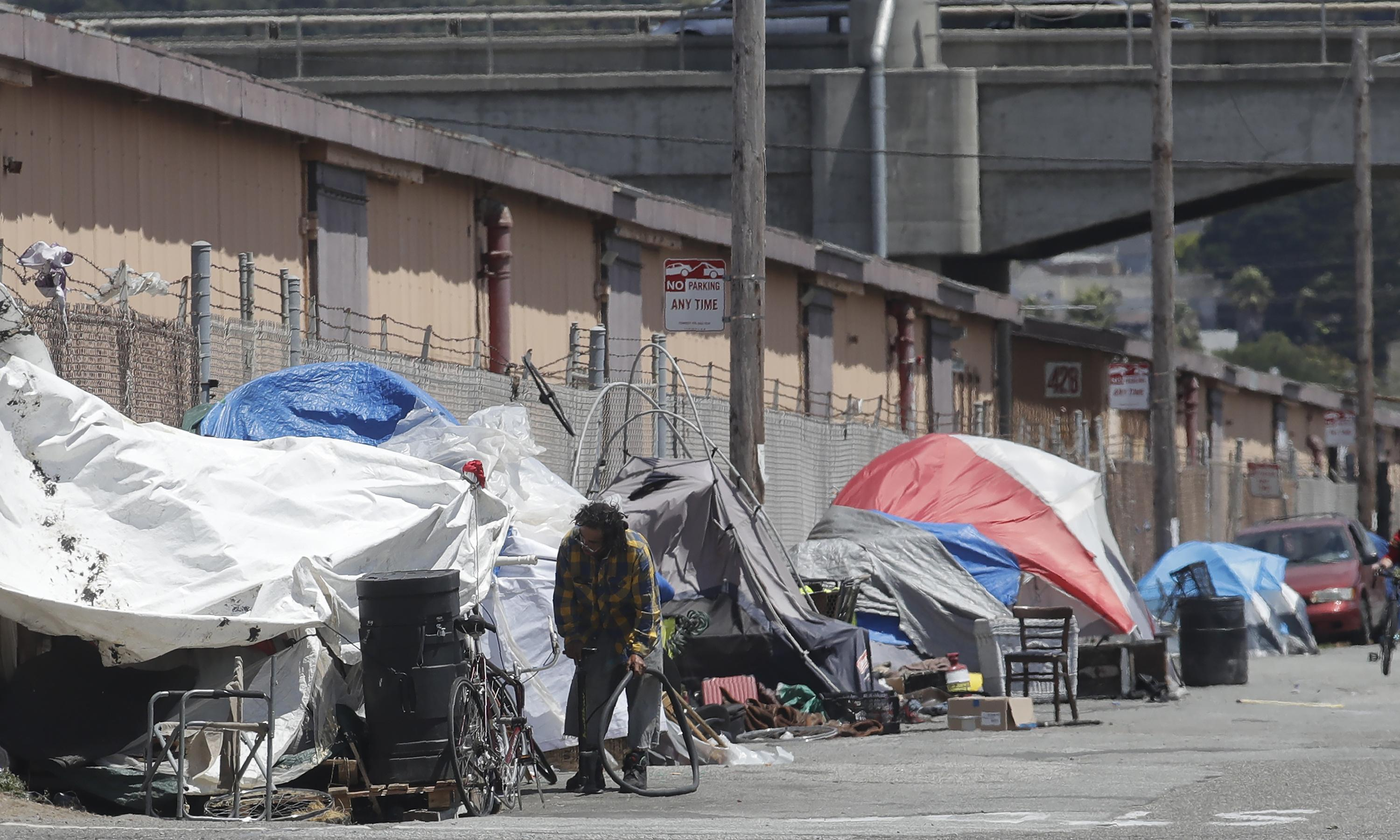 San Francisco: wealthy opponents of new shelter claim homeless are bad for environment