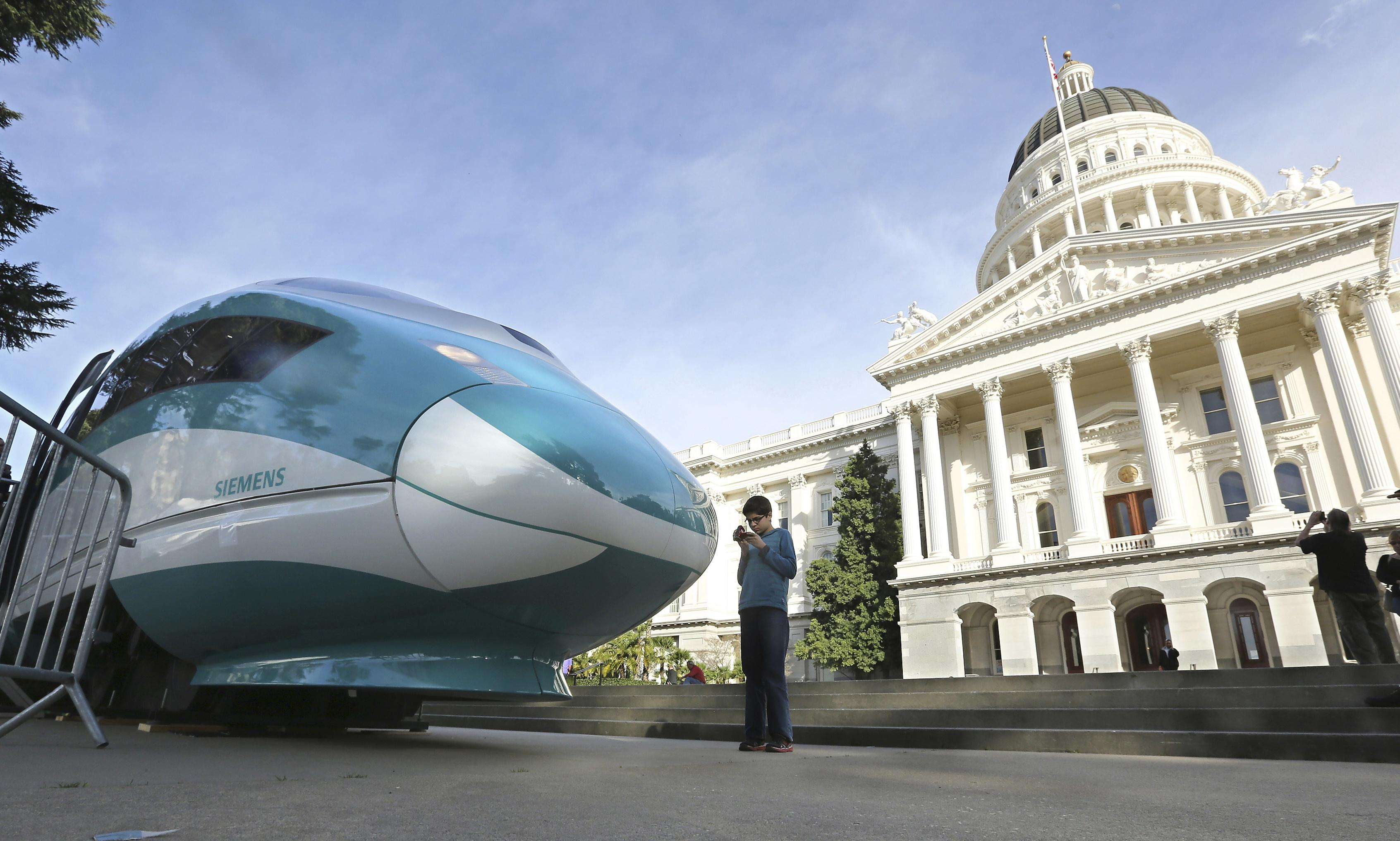 Trump v California: administration wants to get billions in rail funding back