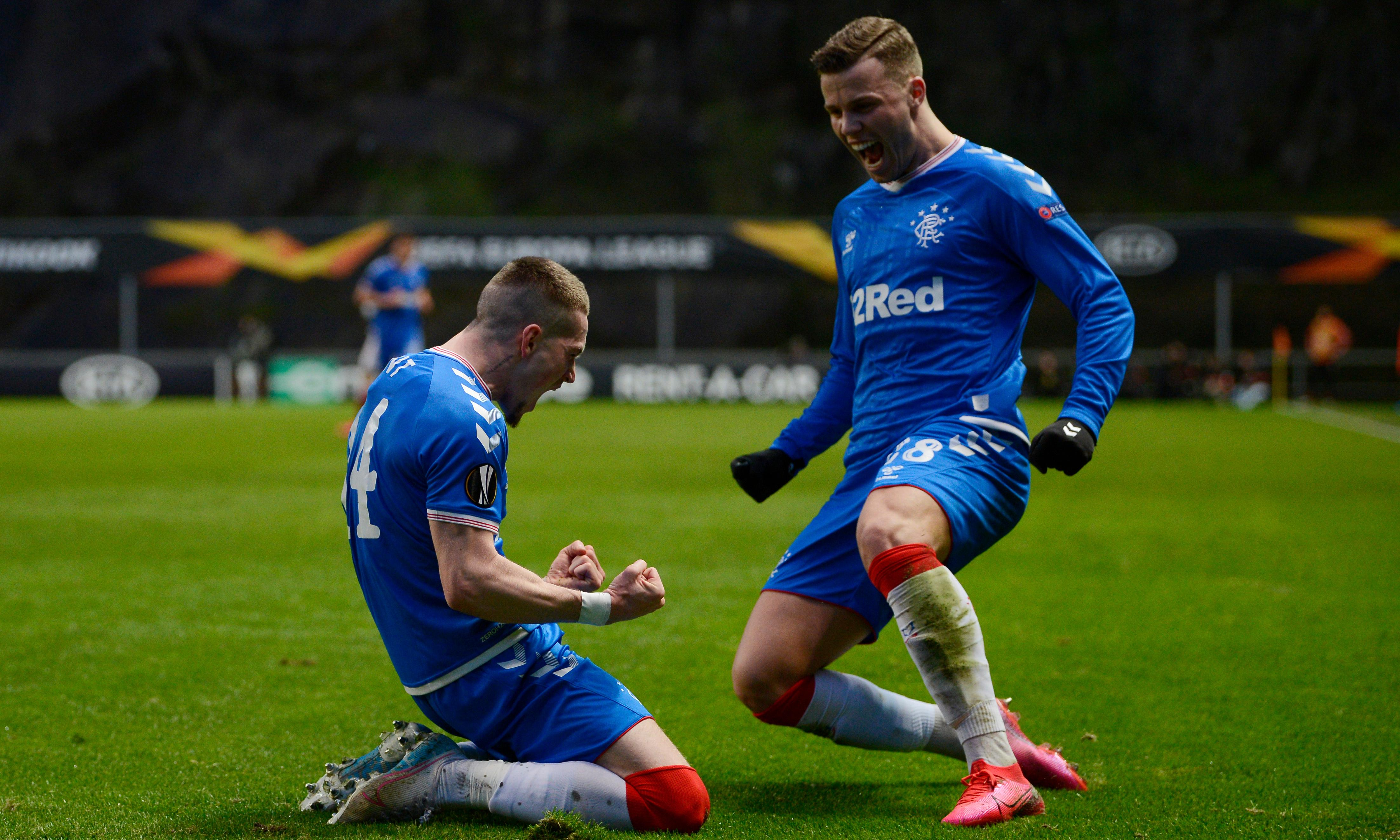 Ryan Kent strikes against Braga to send Rangers into Europa League last 16