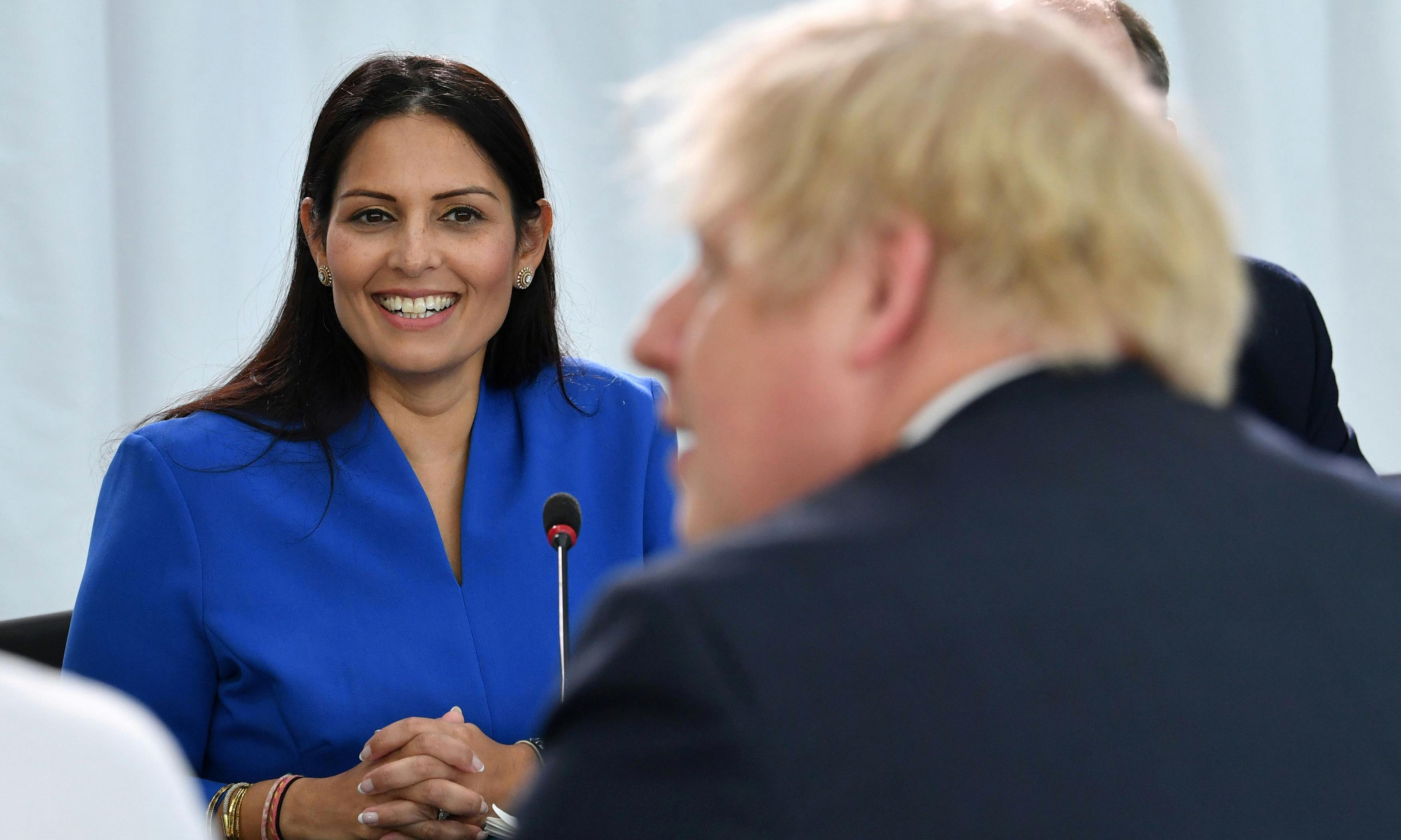 MI5 rejects claims that officials withhold intelligence from Priti Patel