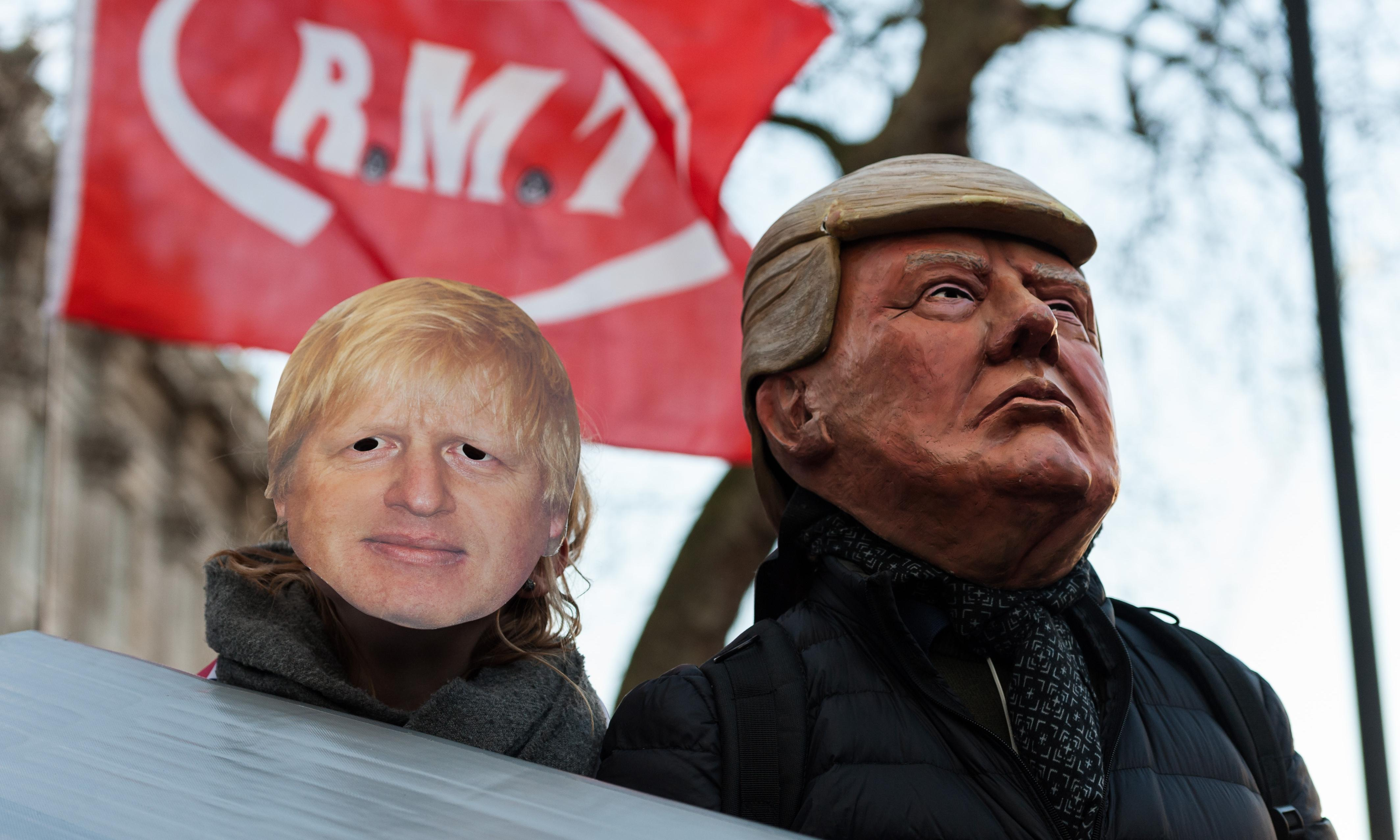 British voters are terrified of US companies privatizing the NHS. They should be