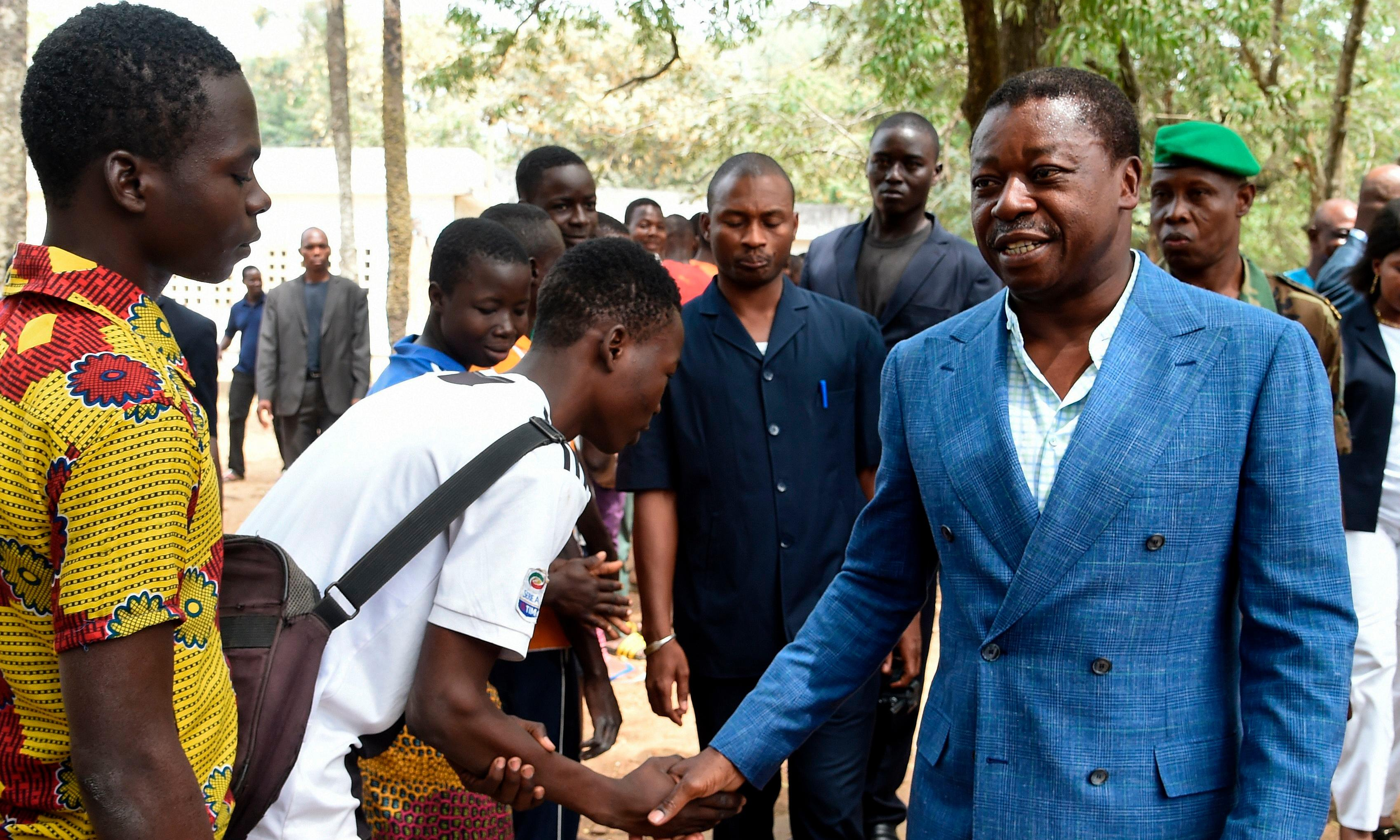 Togo votes as president Gnassingbeé expected to win fourth term