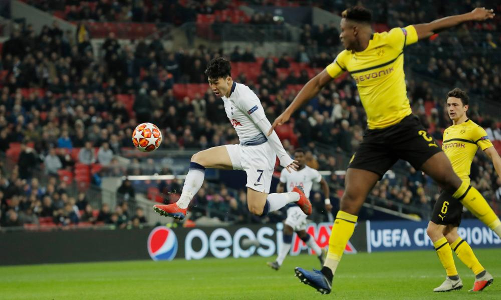 Son Heung-min opens the scoring