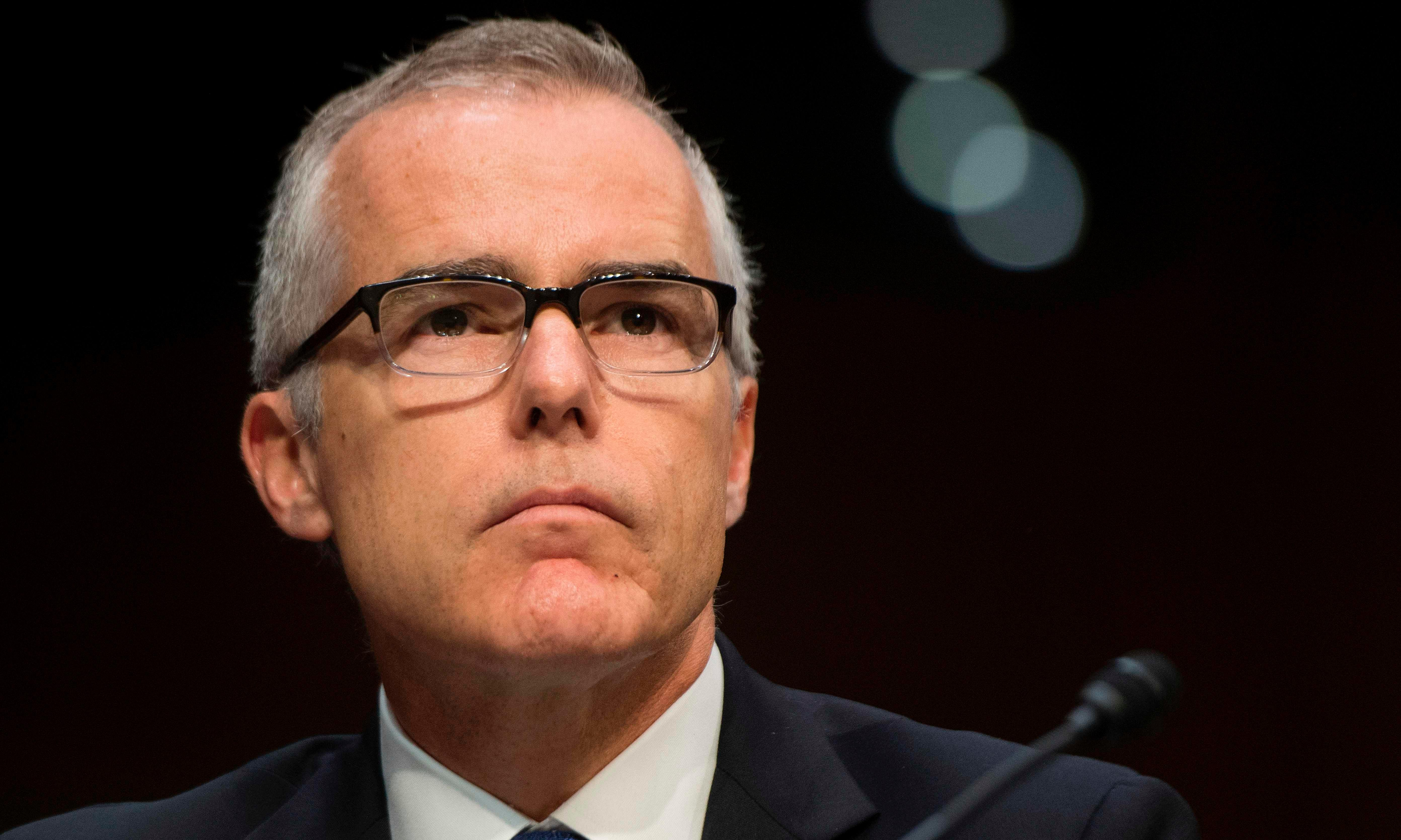 Trump's reaction to McCabe shows he may be the most useless of them all