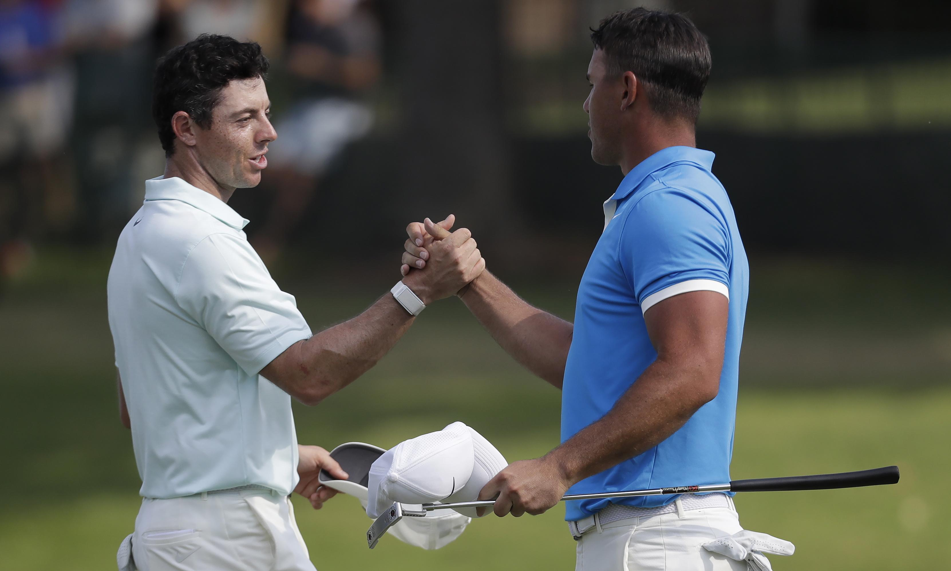 Brooks Koepka sees off Rory McIlroy to win his first WGC title by three shots