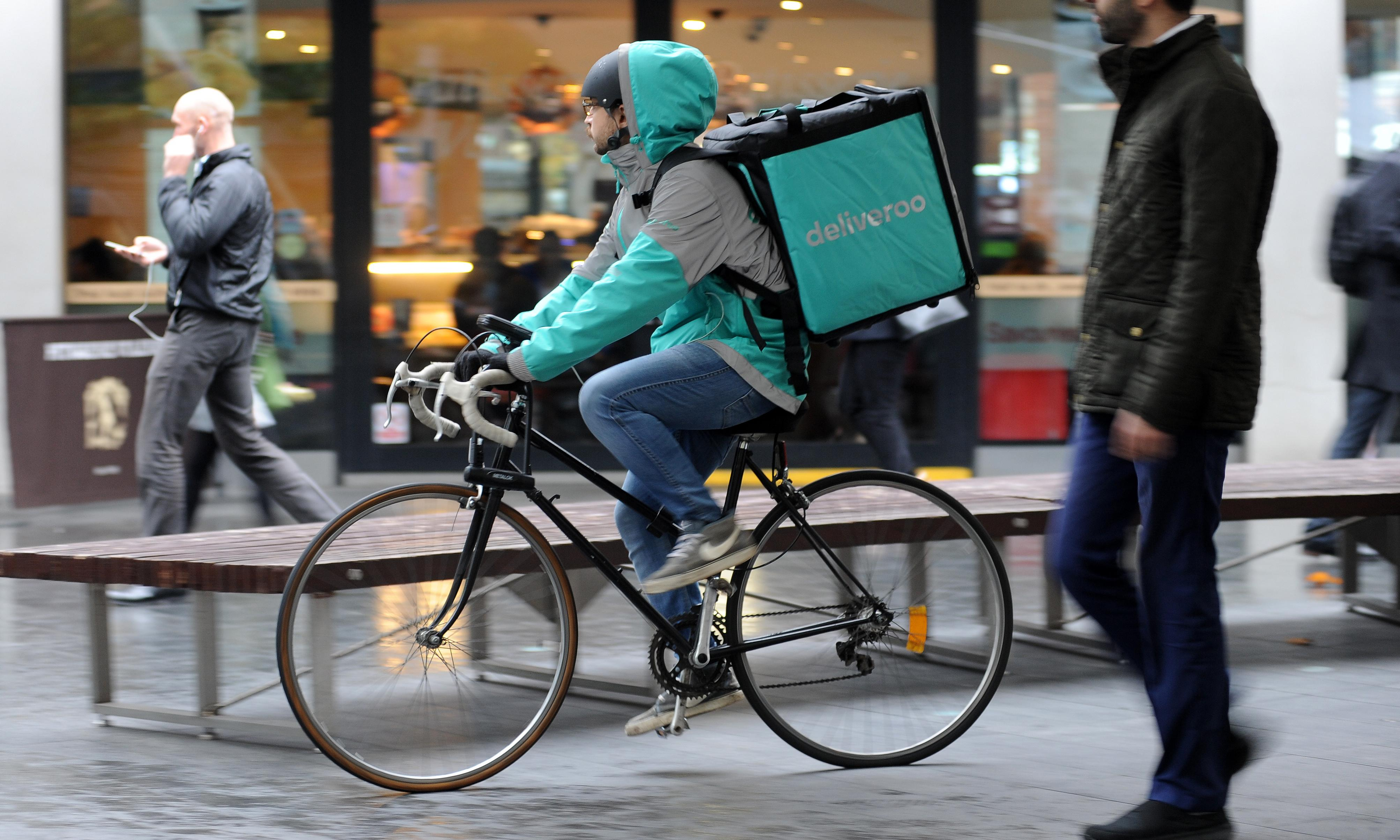 Deliveroo riders lose high court battle to gain union recognition