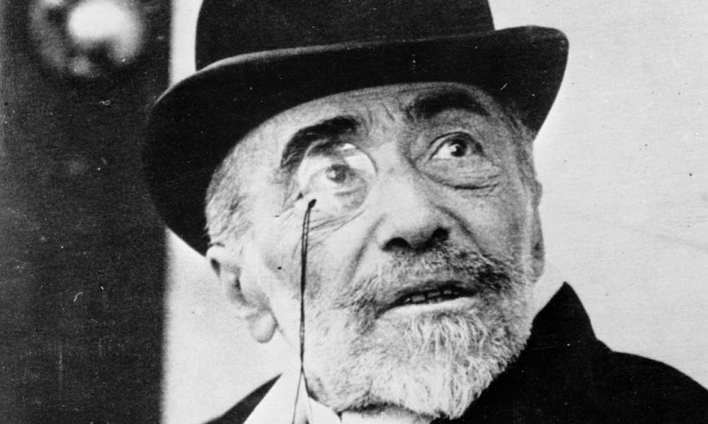 Joseph Conrad, pictured in 1923.