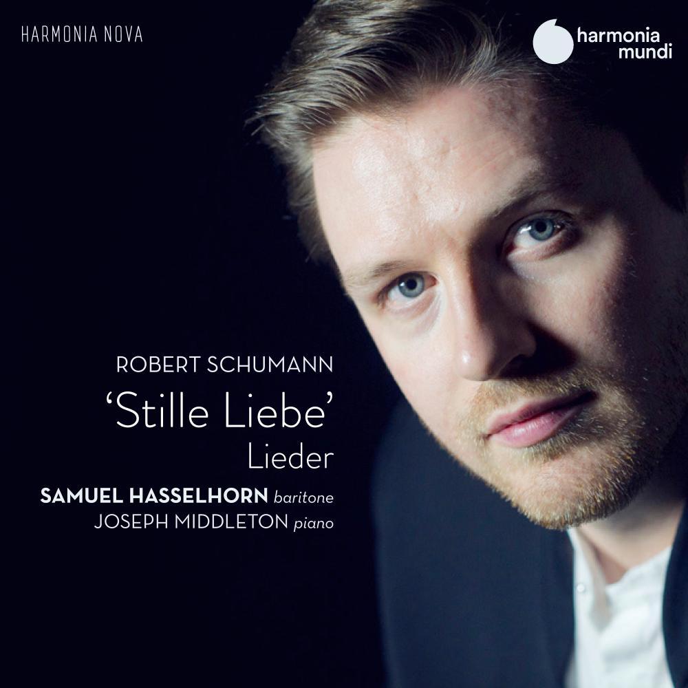Stille Liebe: Lieder by Robert Schumann album cover