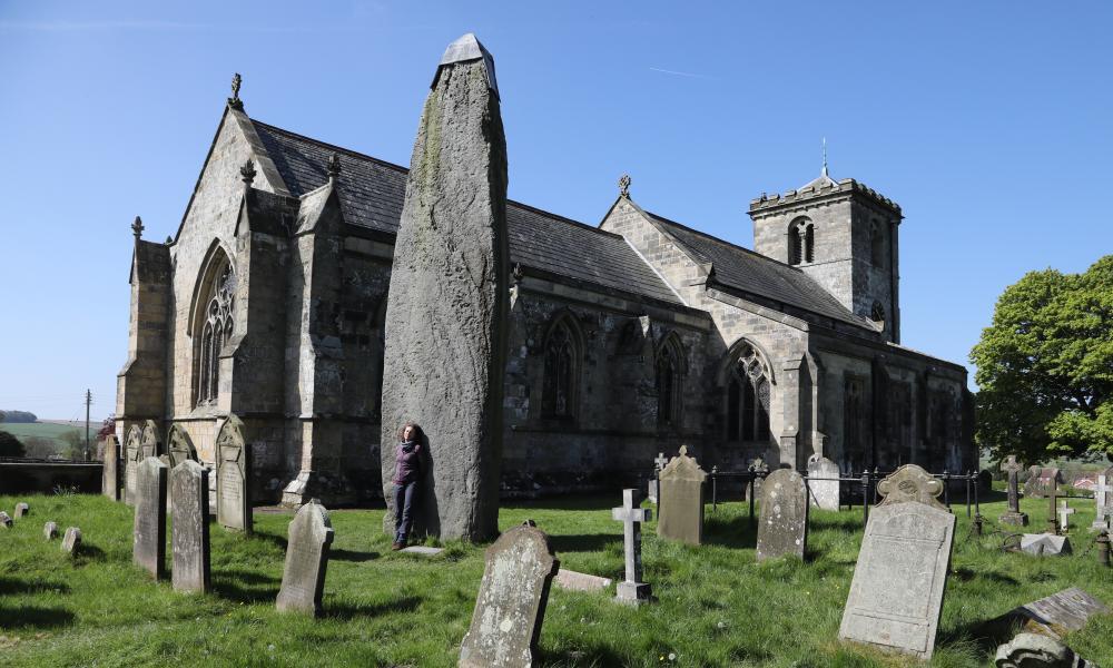 The Rudston Monolith, Yorkshire.