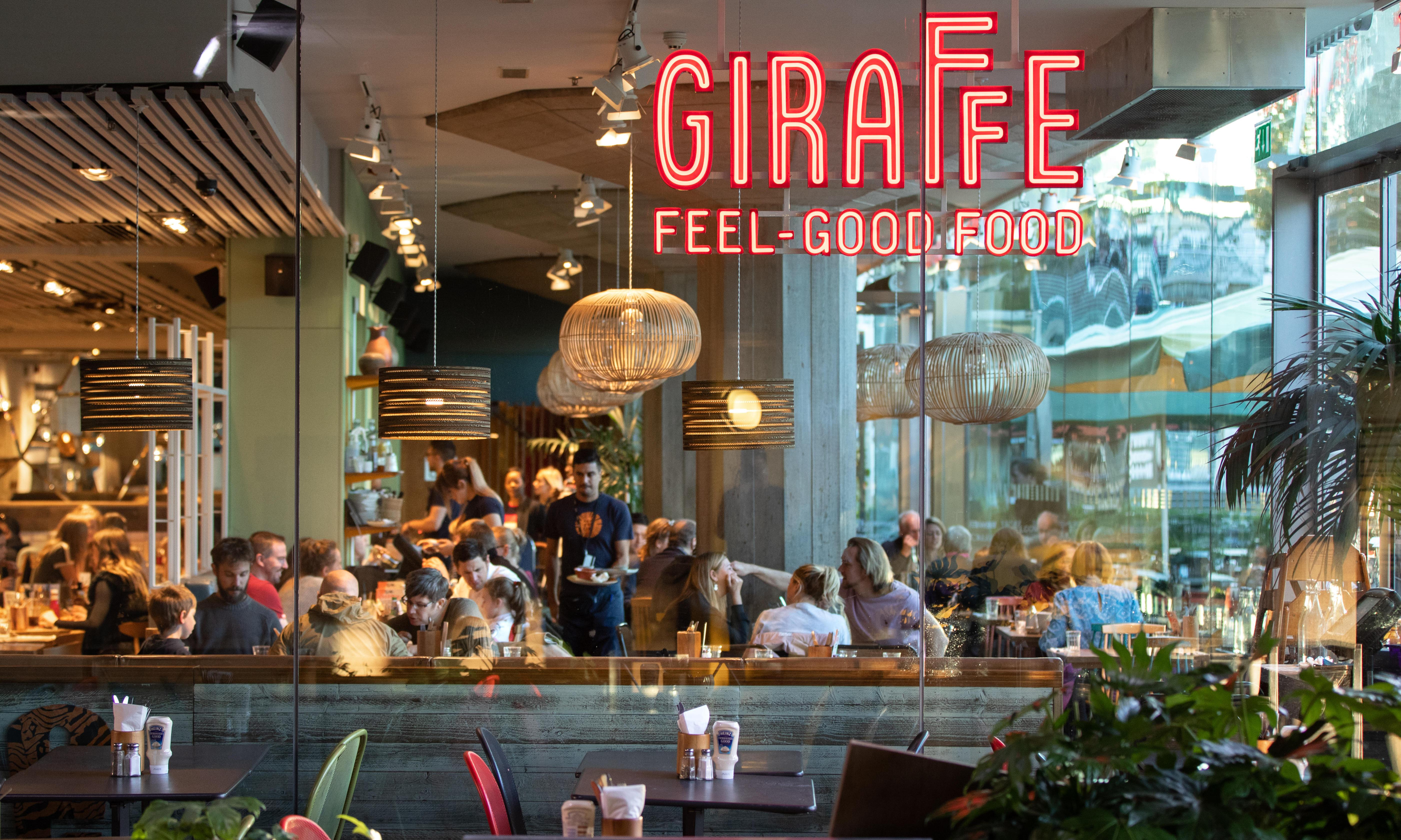 Giraffe and Ed's Easy Diner owner to shut a third of its restaurants
