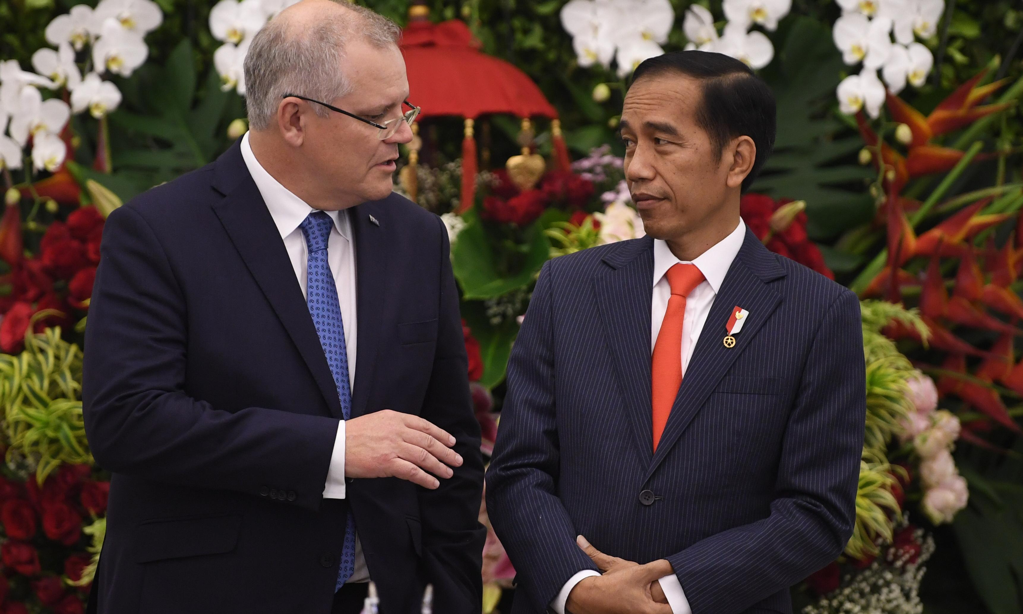 Scott Morrison travels to Indonesia as Labor embraces free trade agreement