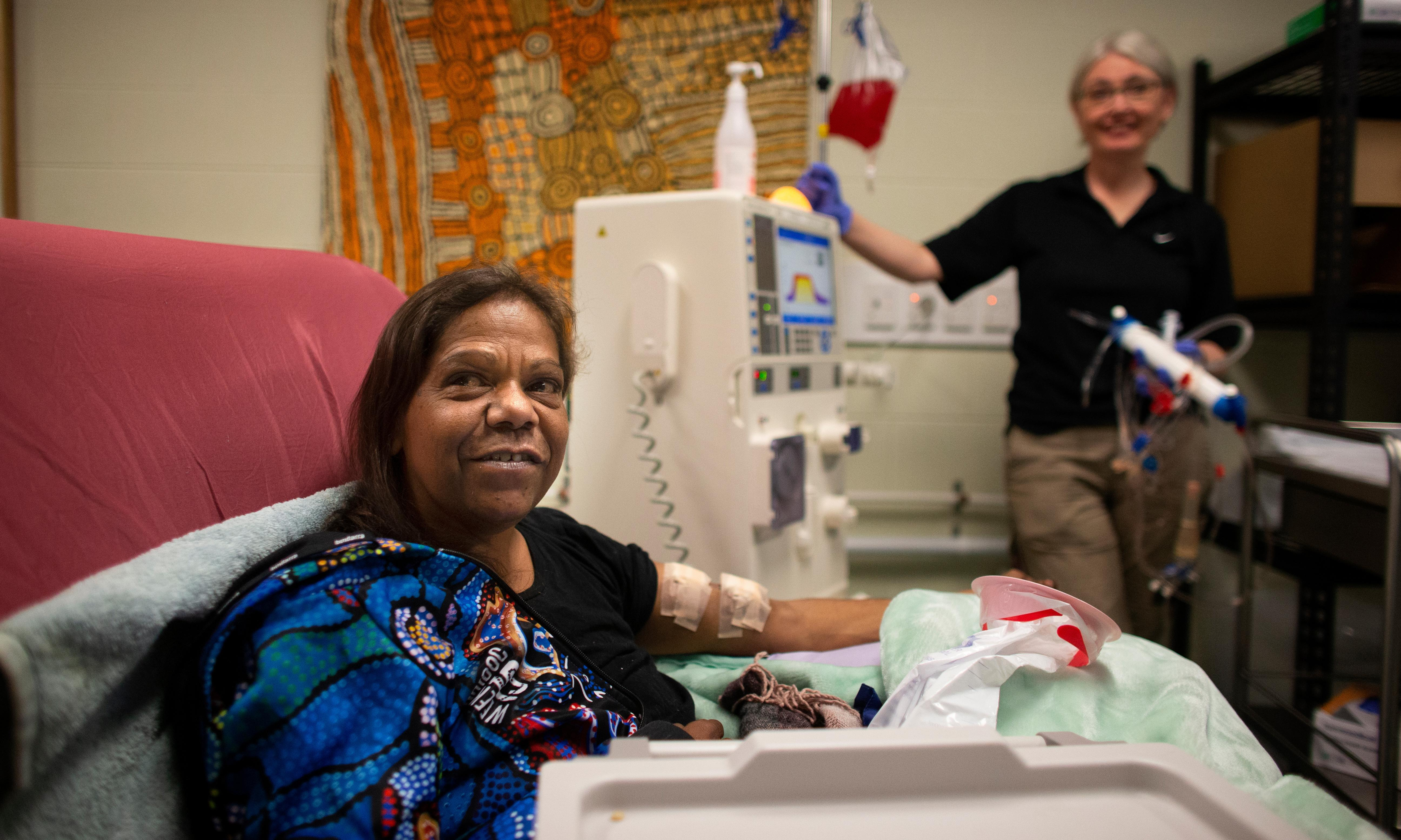 Heatwave and drought a dangerous mix for dialysis patients in remote communities