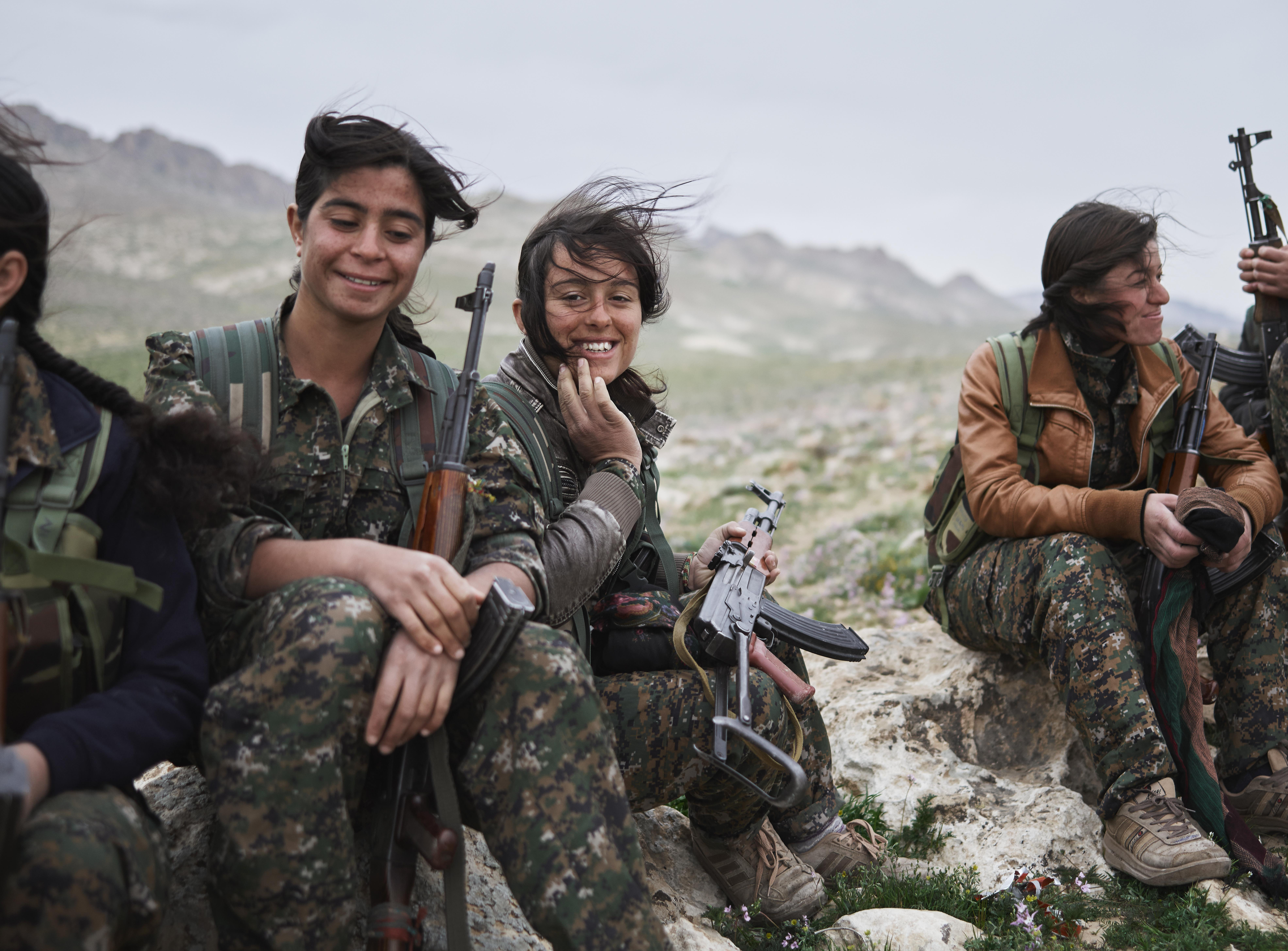 Faces of war: Kurdistan's armed struggle against Islamic State