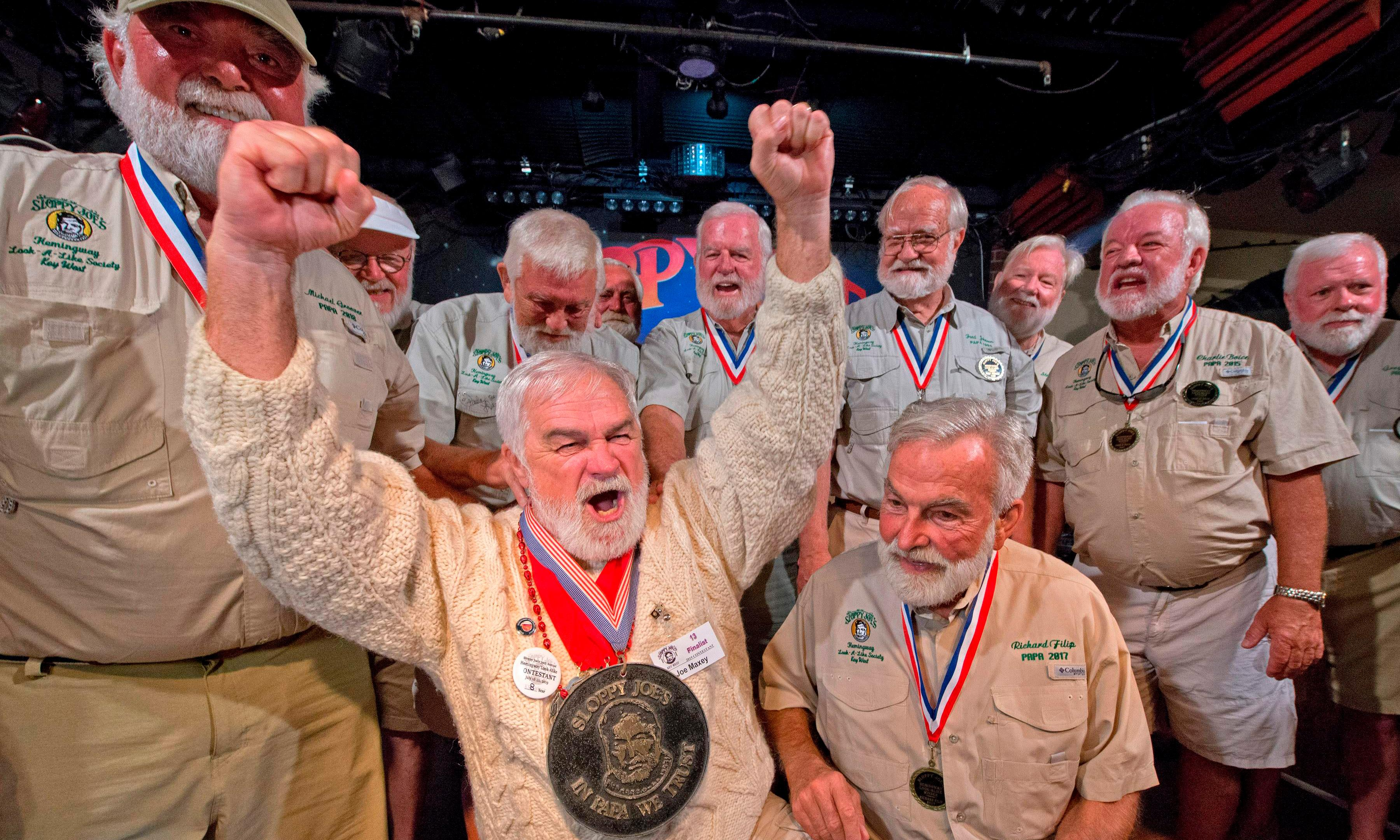 Old men by the sea: Tennessee banker takes Hemingway lookalike contest