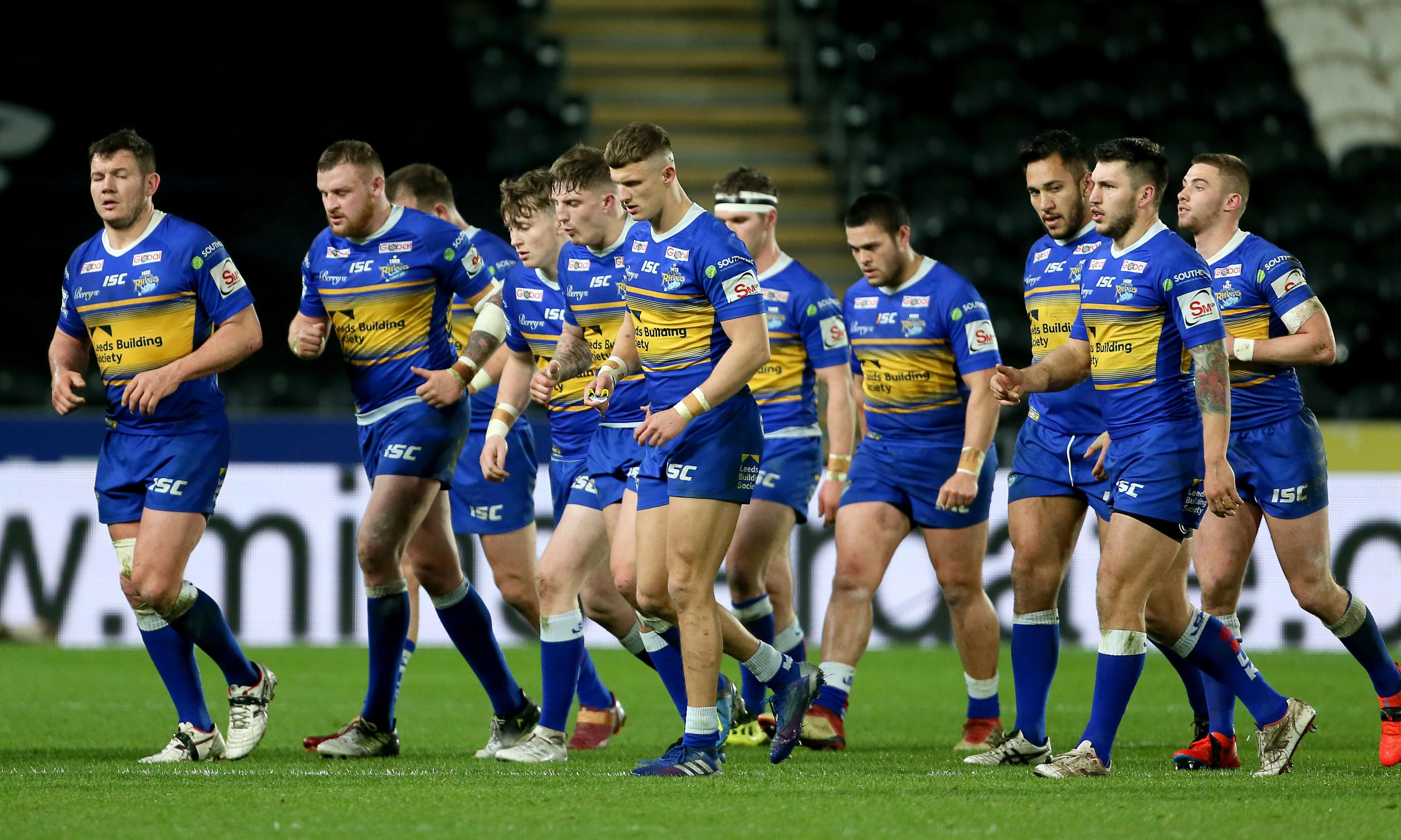 Super League's falling giants Leeds Rhinos have that sinking feeling
