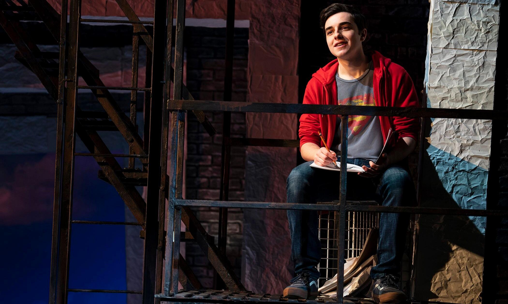 Superhero review – low-key musical adds superpowers to family drama