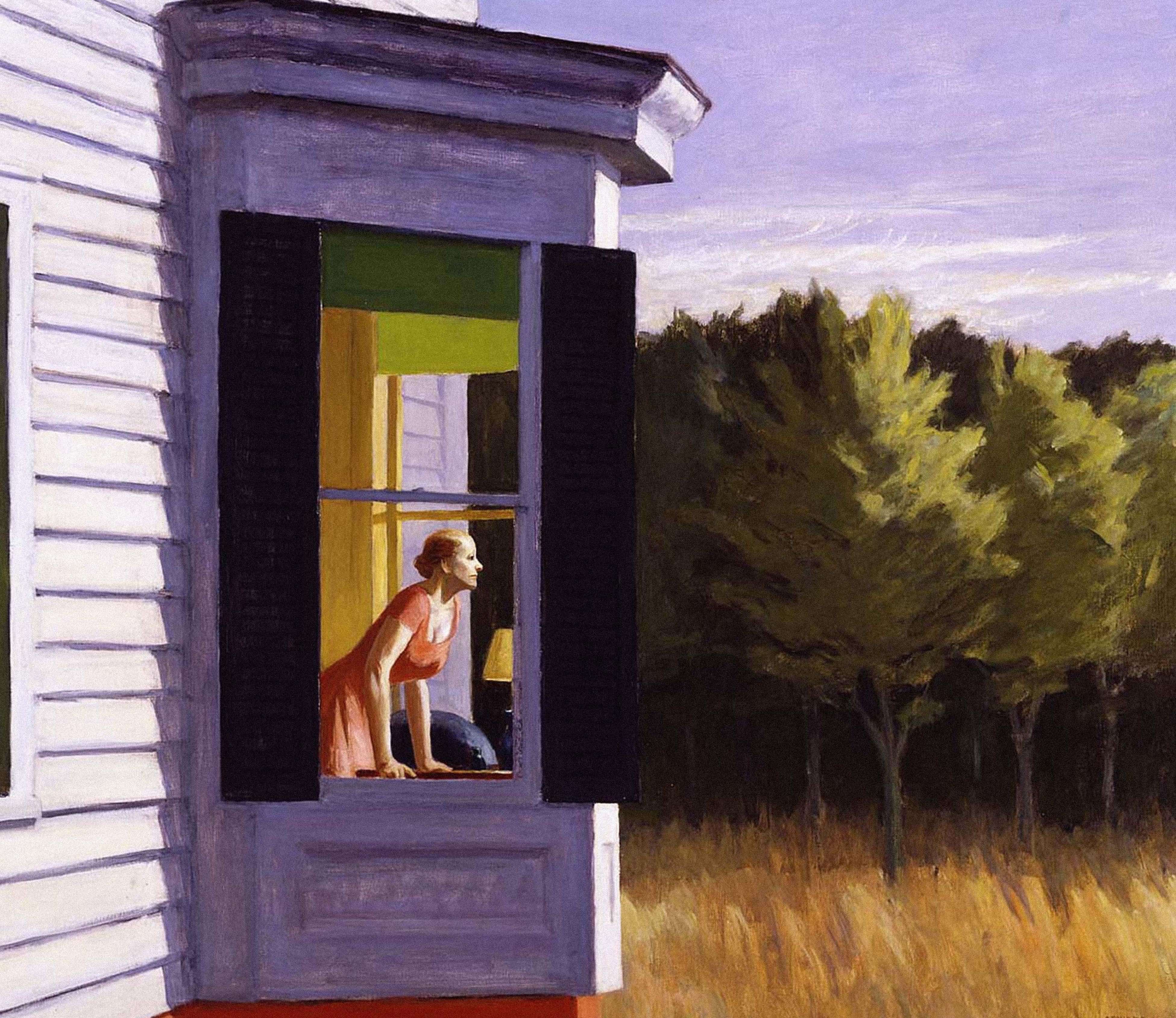 'We are all Edward Hopper paintings now': is he the artist of the coronavirus age?