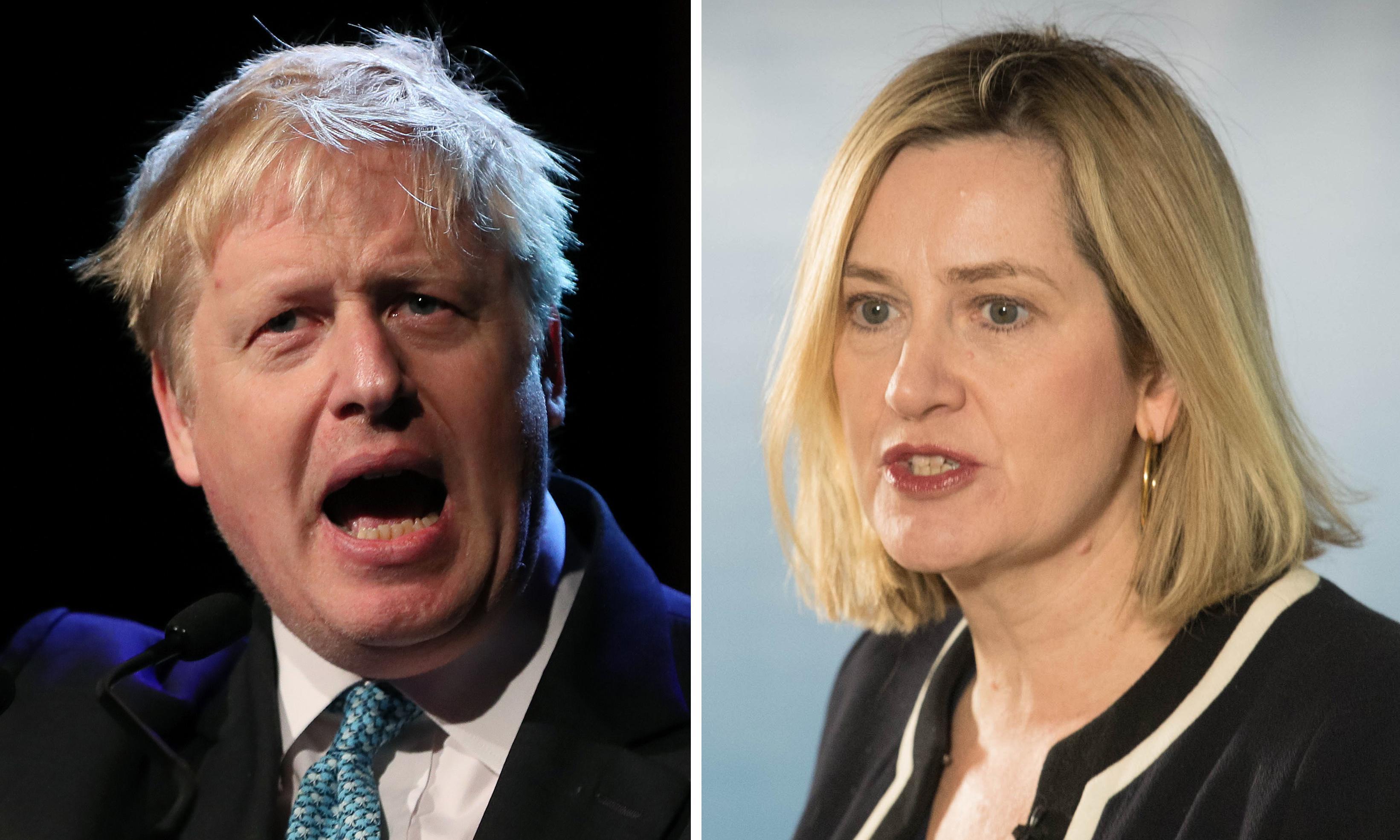 Amber Rudd calls on Boris Johnson to reveal Brexit plan