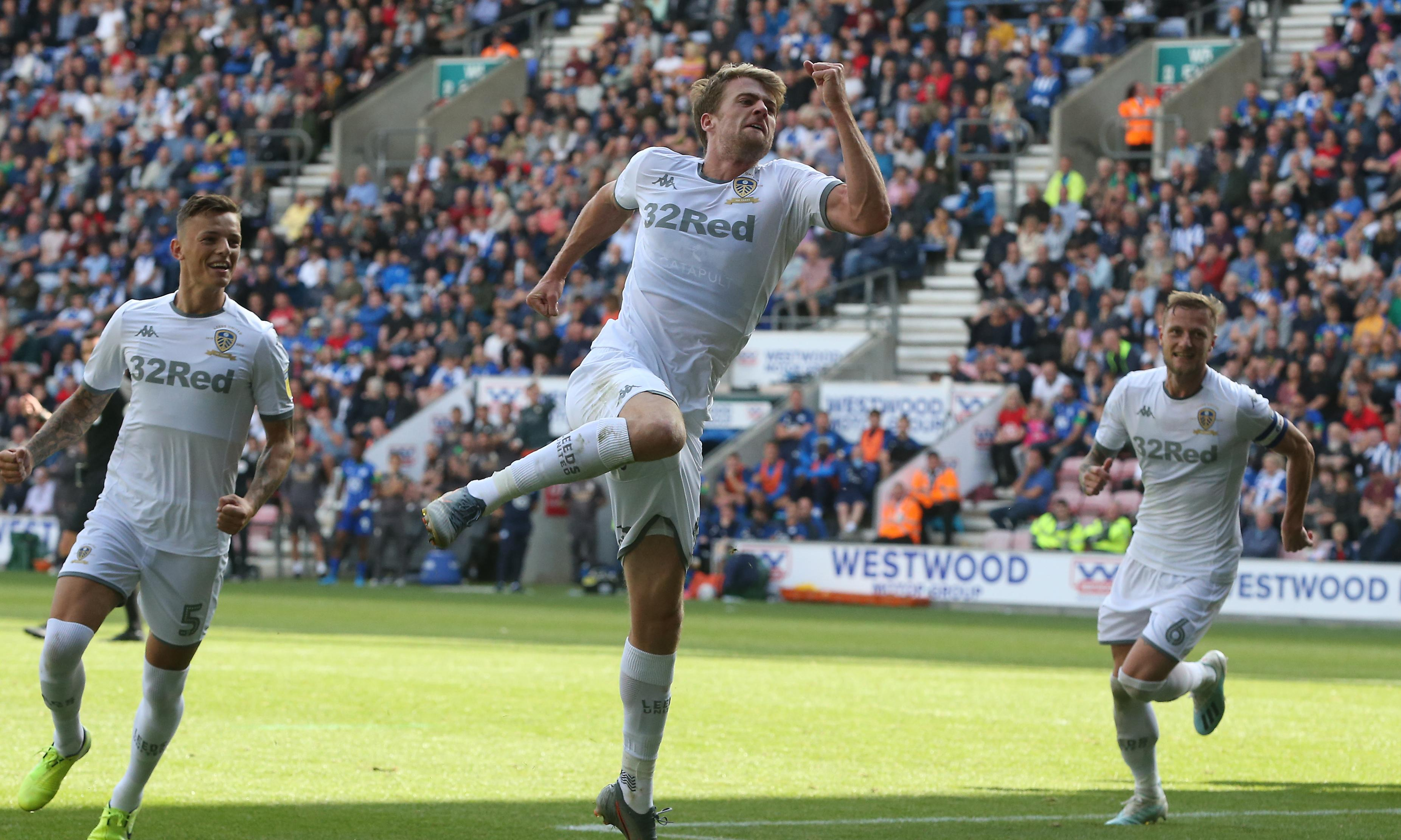 Football League: Bamford double puts Leeds top, Diangana double for West Brom