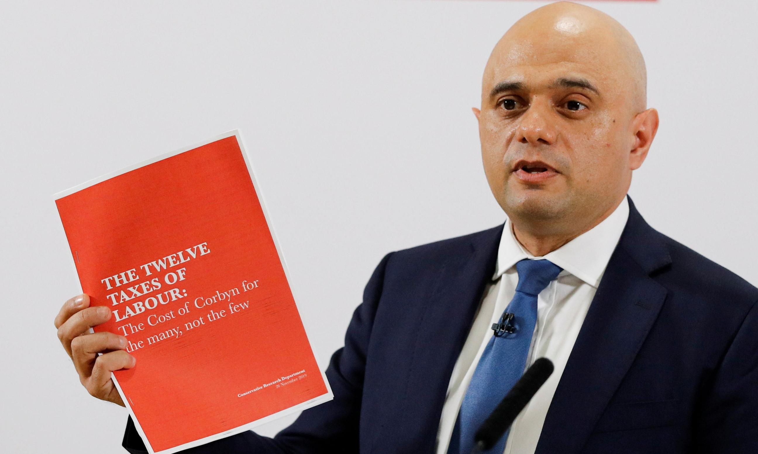 Sajid Javid refuses to rule out possibility of no-deal Brexit