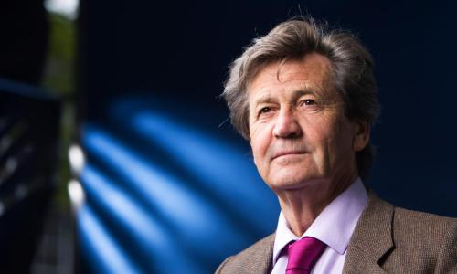Writer and broadcaster Melvyn Bragg.