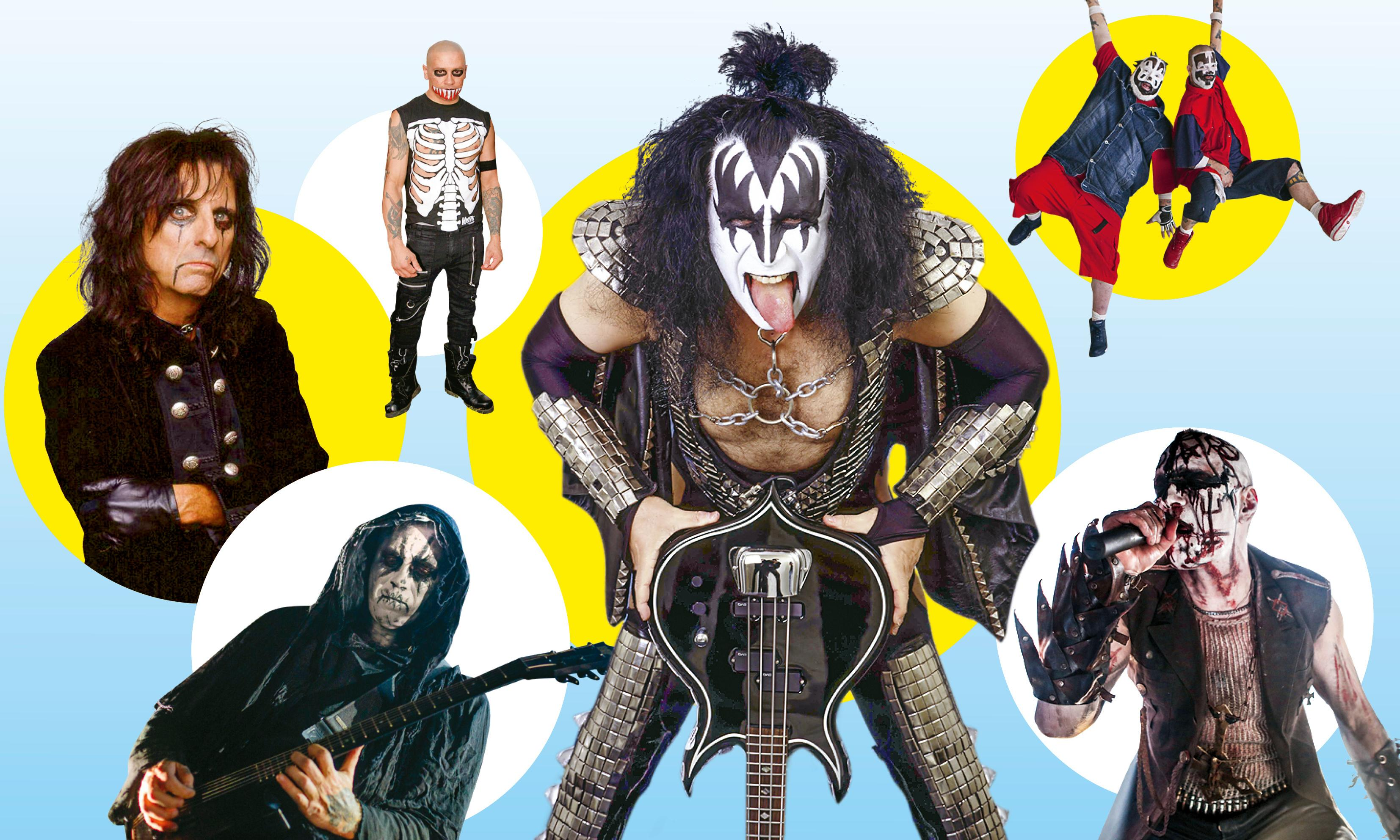 Kiss, Misfits, Mayhem: which metal band has the scariest makeup?
