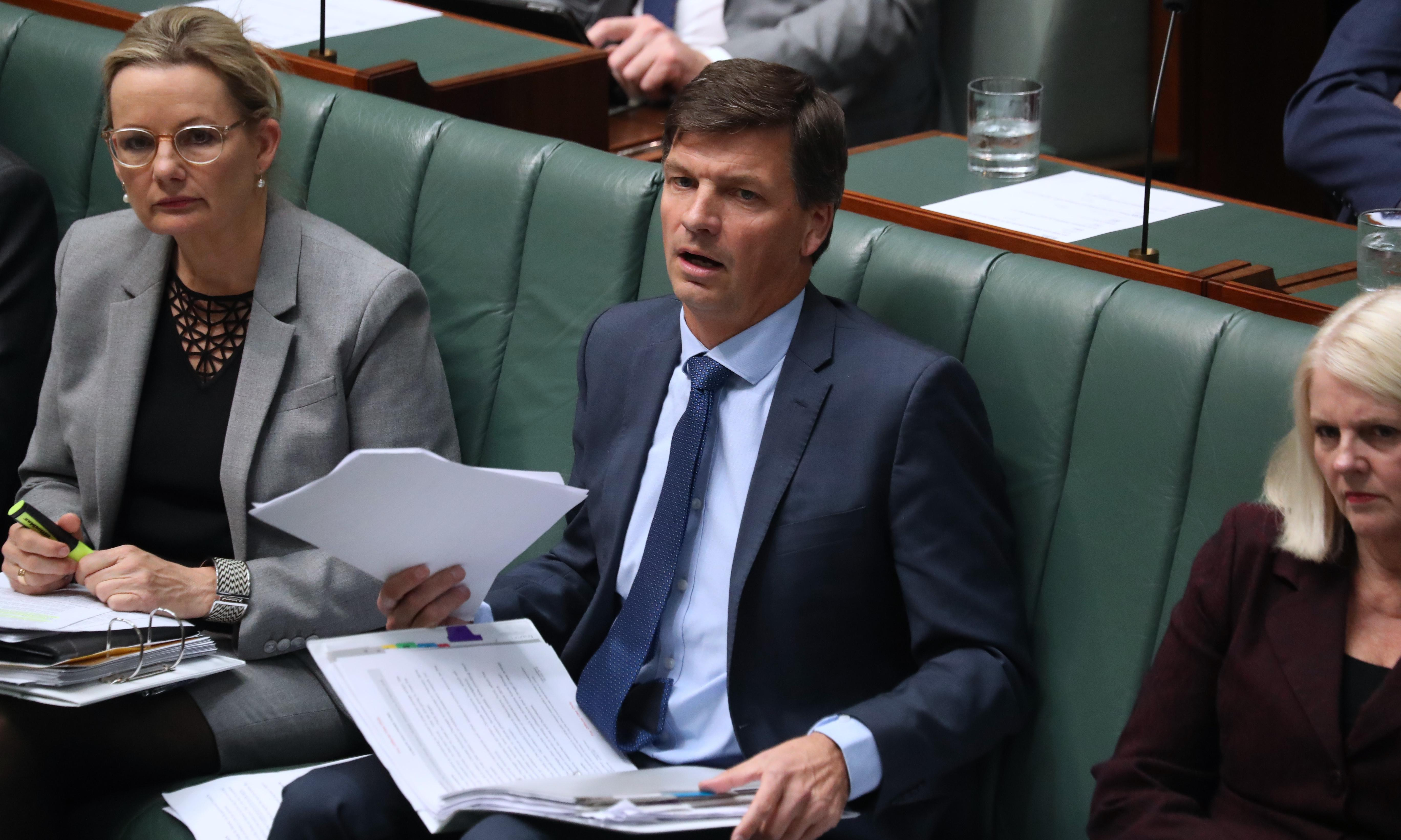 Angus Taylor did not disclose financial interest at grassland meeting, committee hears