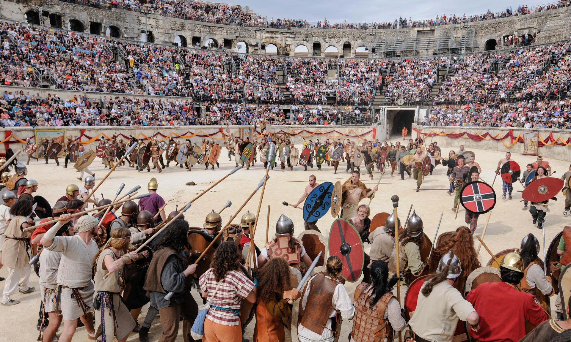 'I'm Spartacus!': gladiators galore at Nîmes' Great Roman Games