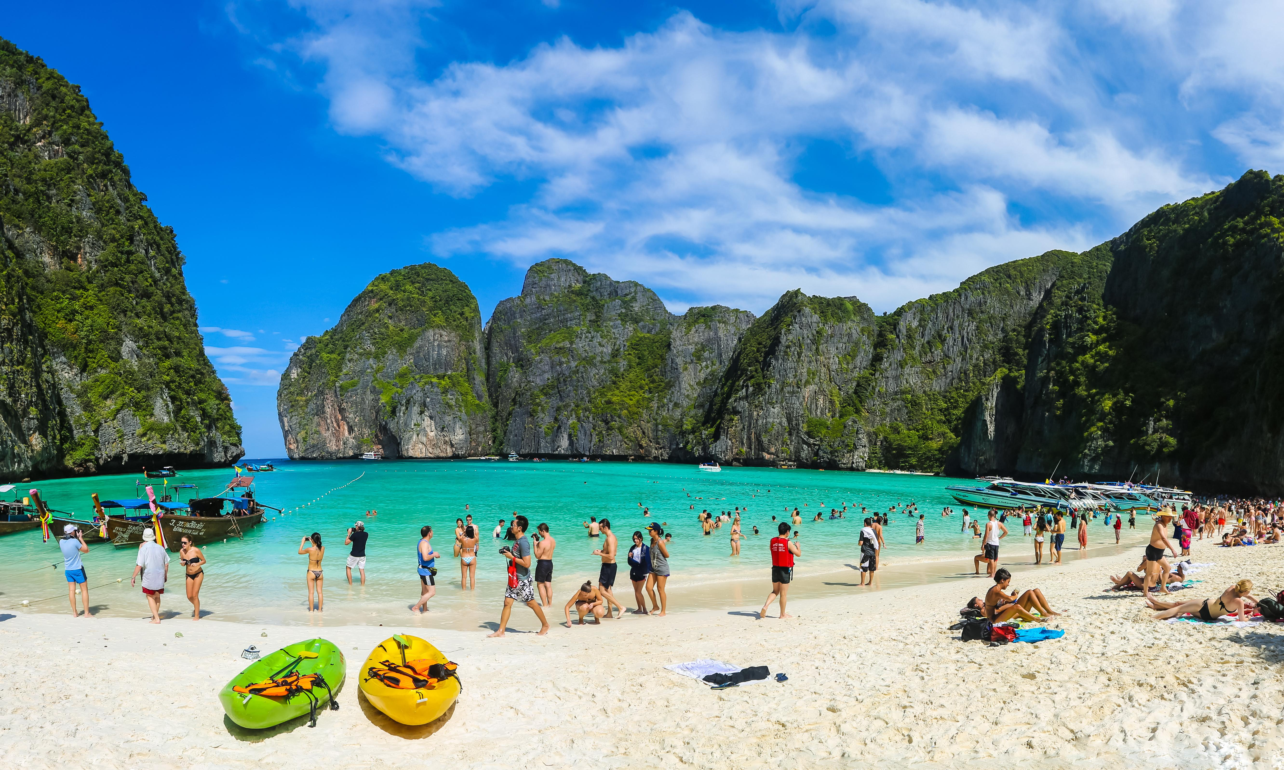 Thailand's Maya Bay, location for The Beach, to close to tourists
