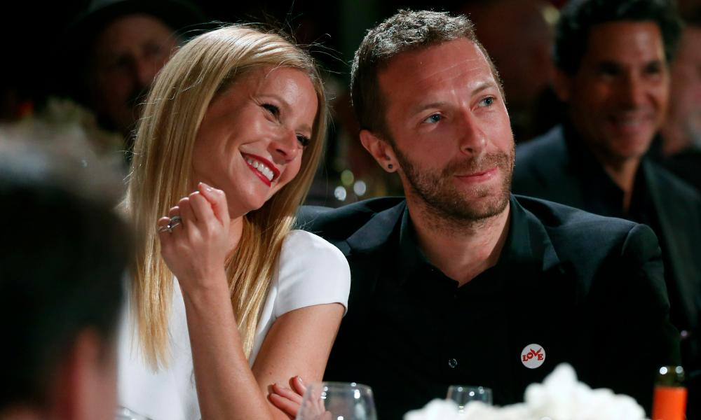Gwyneth Paltrow and Chris Martin … spearheading the non-antagonistic divorce.