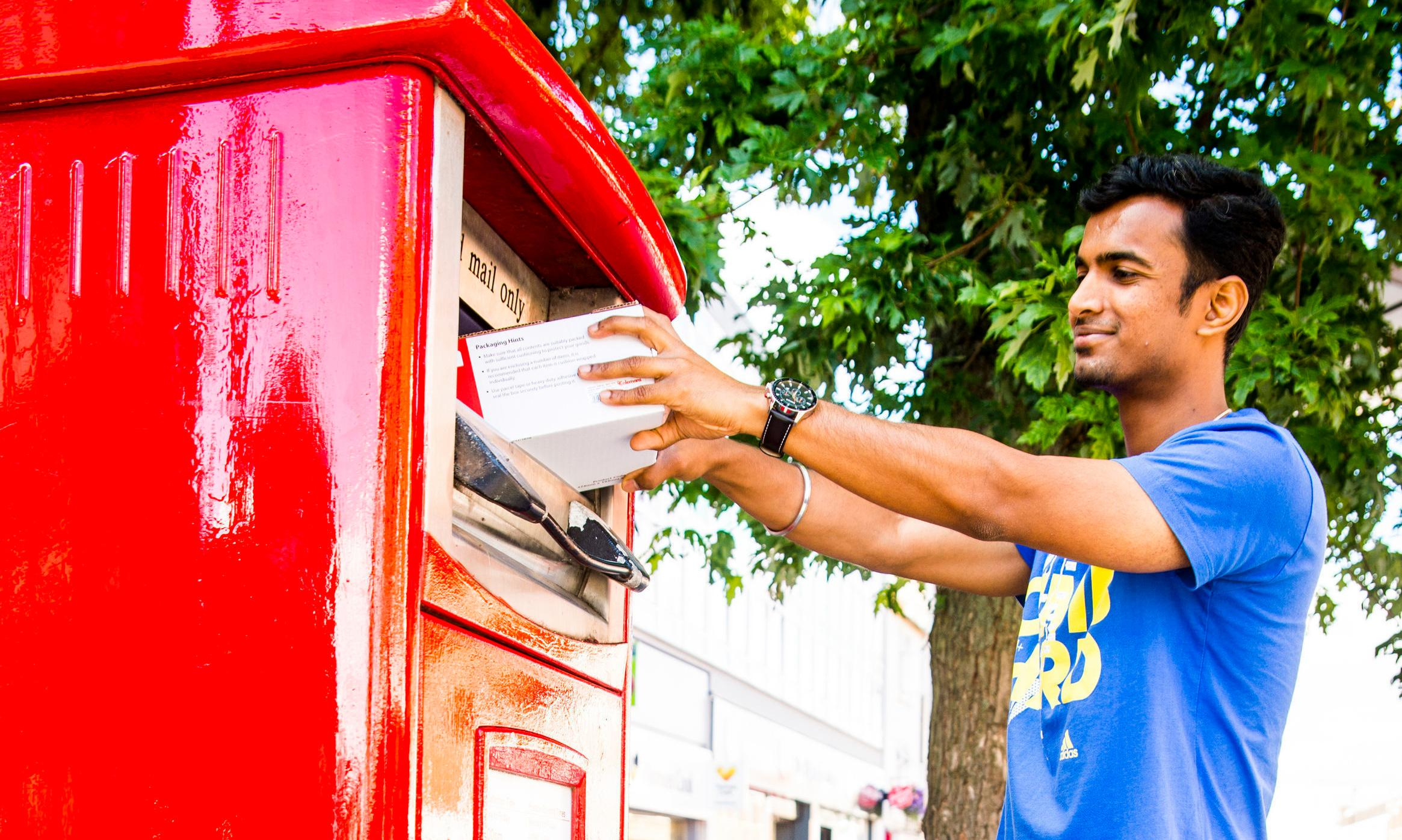 Royal Mail to launch UK's first parcel postboxes
