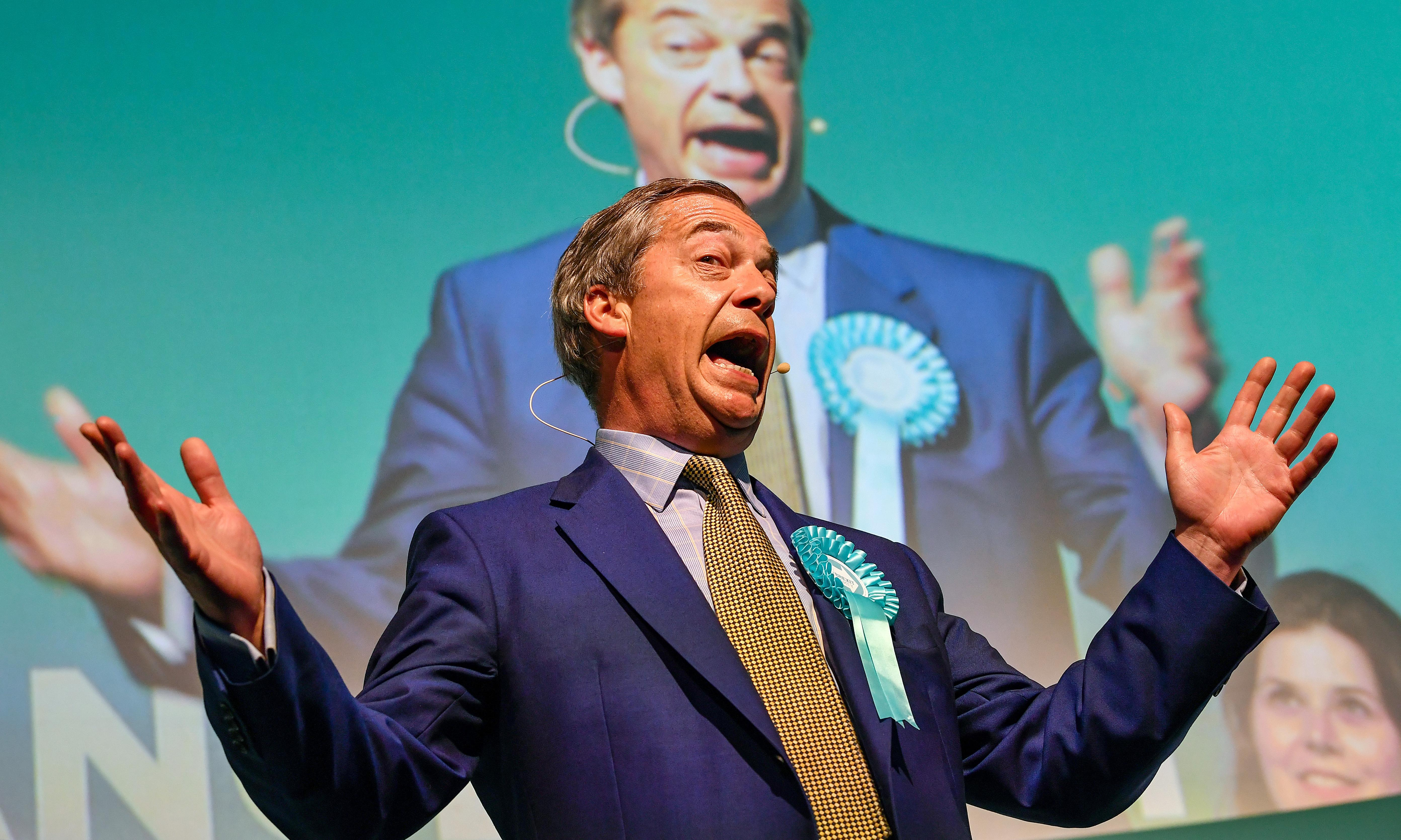 Monday briefing: 'Dirty money' could reach Farage party, Brown says