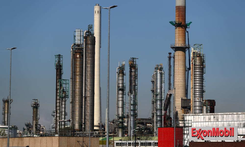 An ExxonMobil refinery in the Netherlands. Some climate advocates oppose the idea of divesting from such companies.