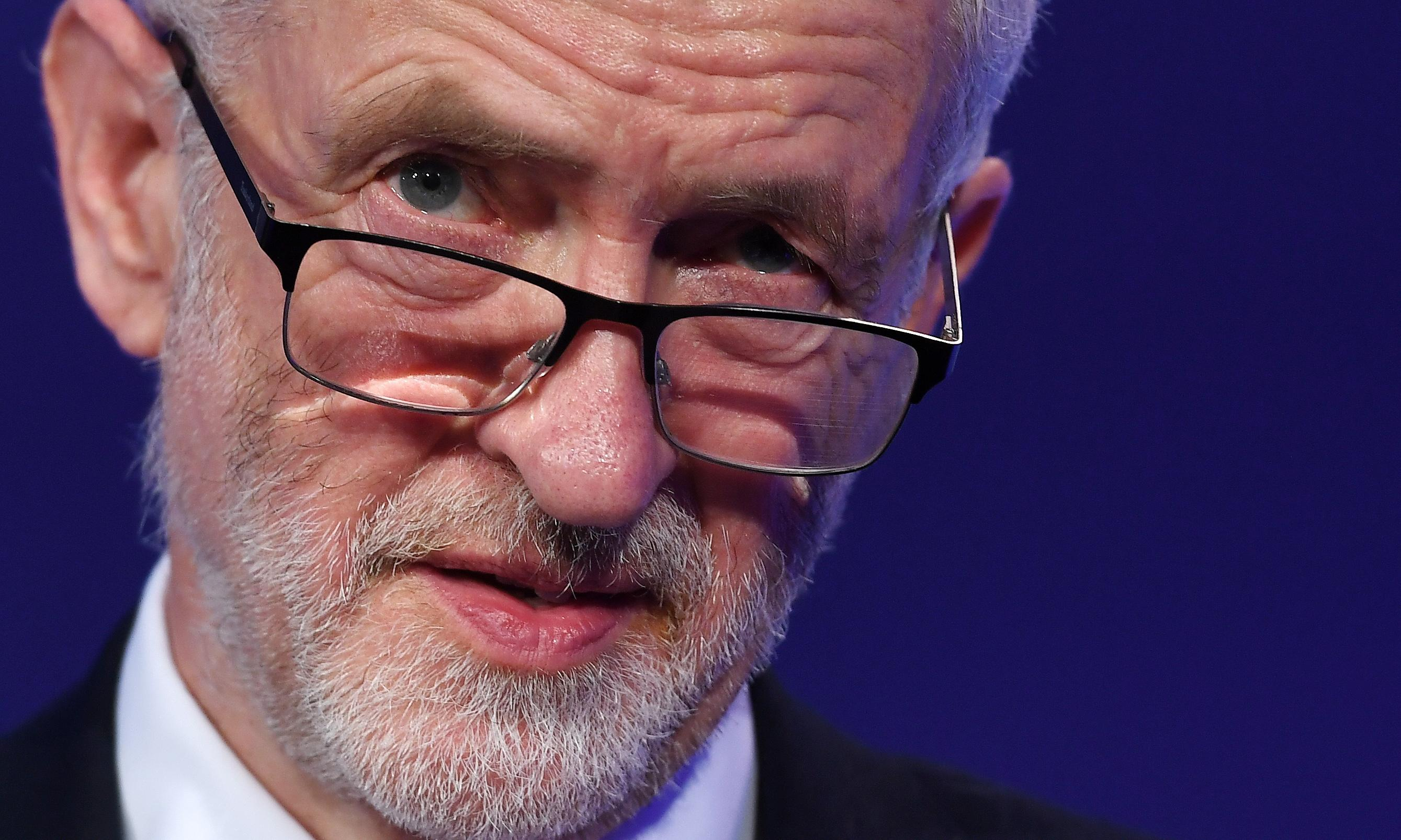 At times like these, Corbyn is his own worst enemy