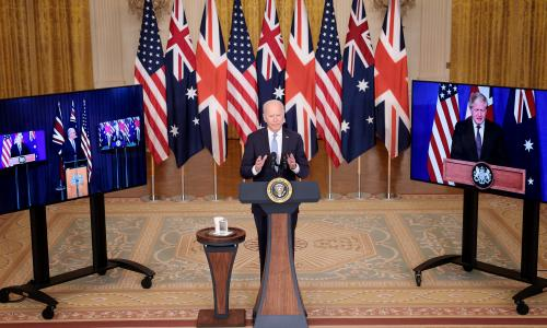 US forges security partnership with UK and Australia to counter China – as it happened