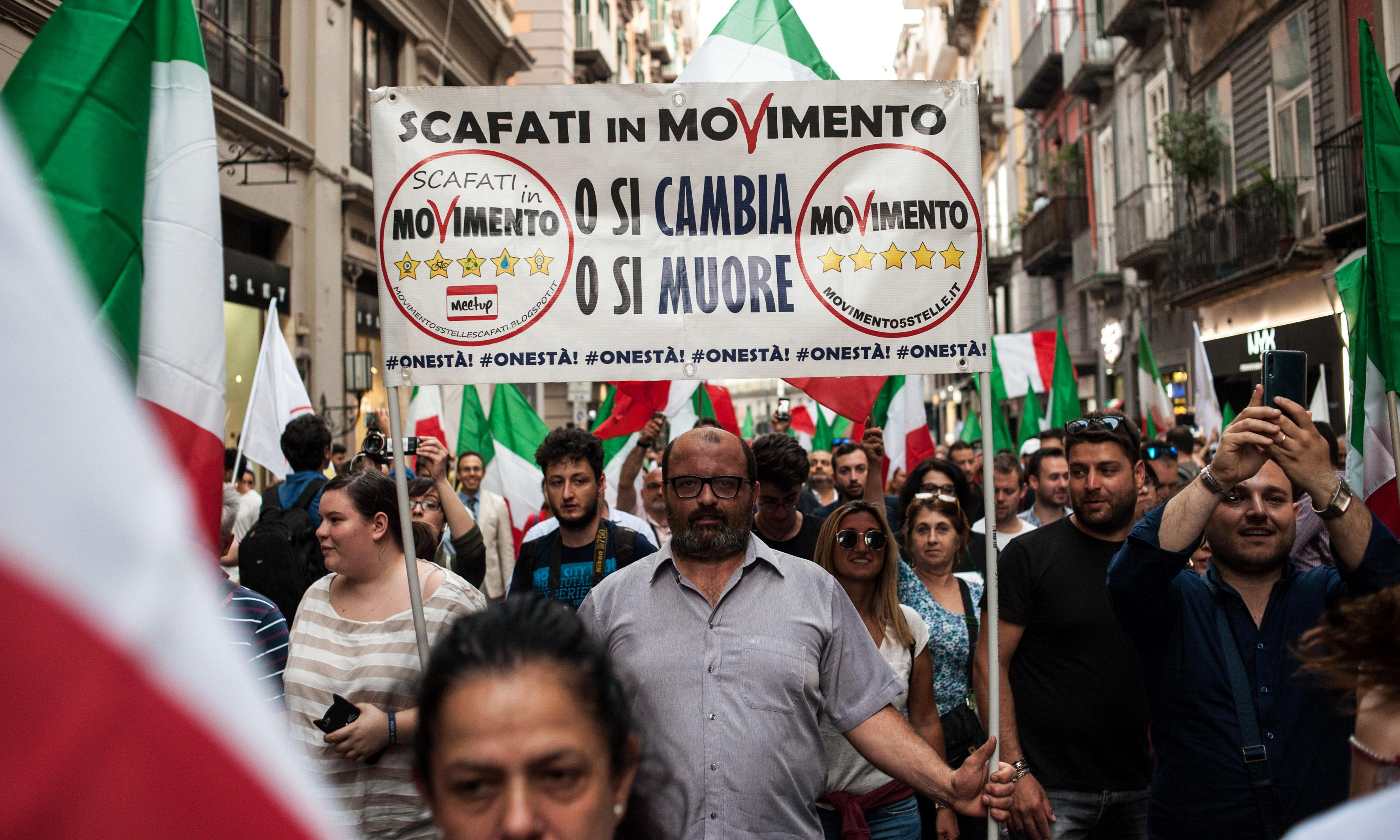 Italian politics radio station on brink as M5S votes to pull funding