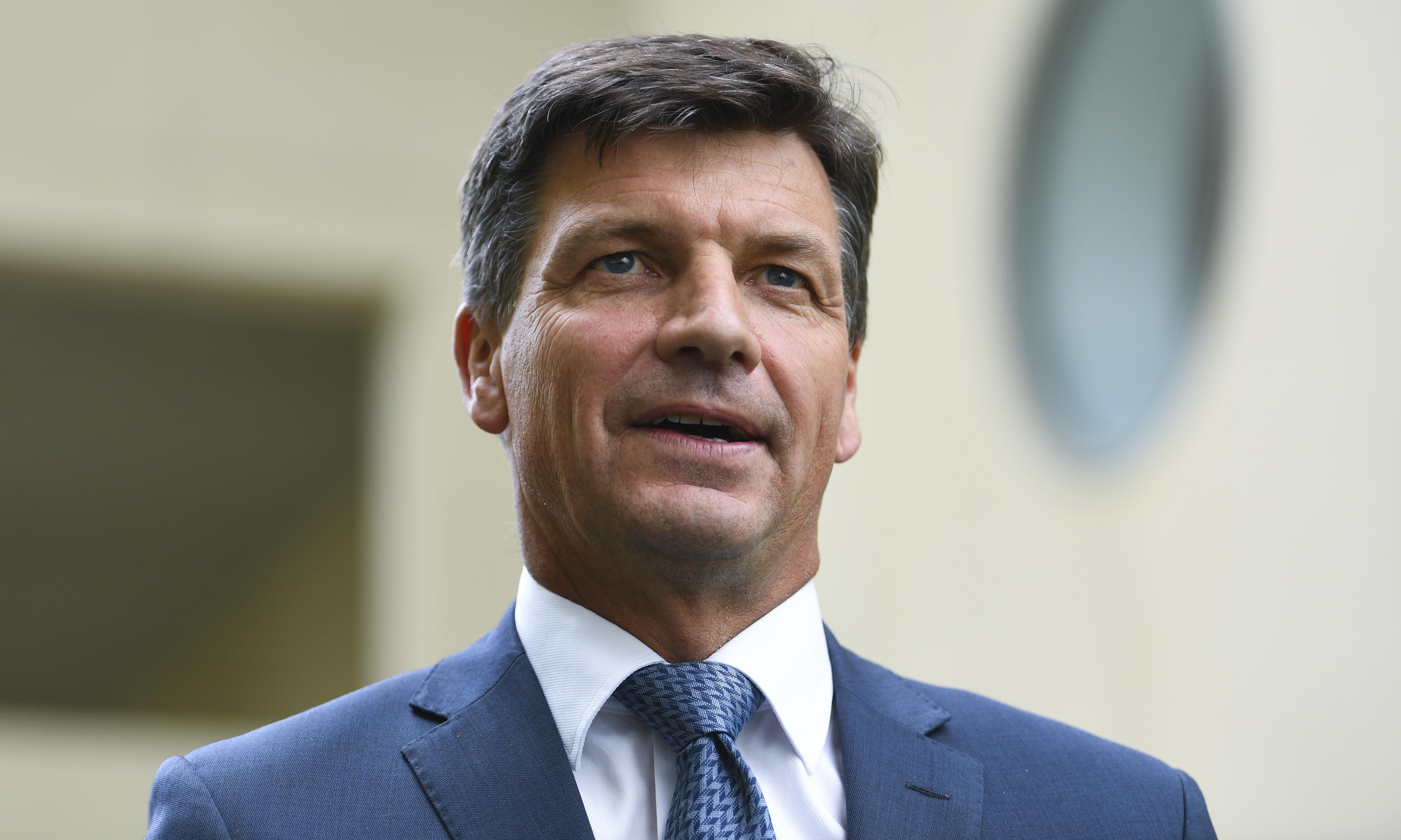 Angus Taylor won't say what PM's 'negative globalism' comments mean for climate talks