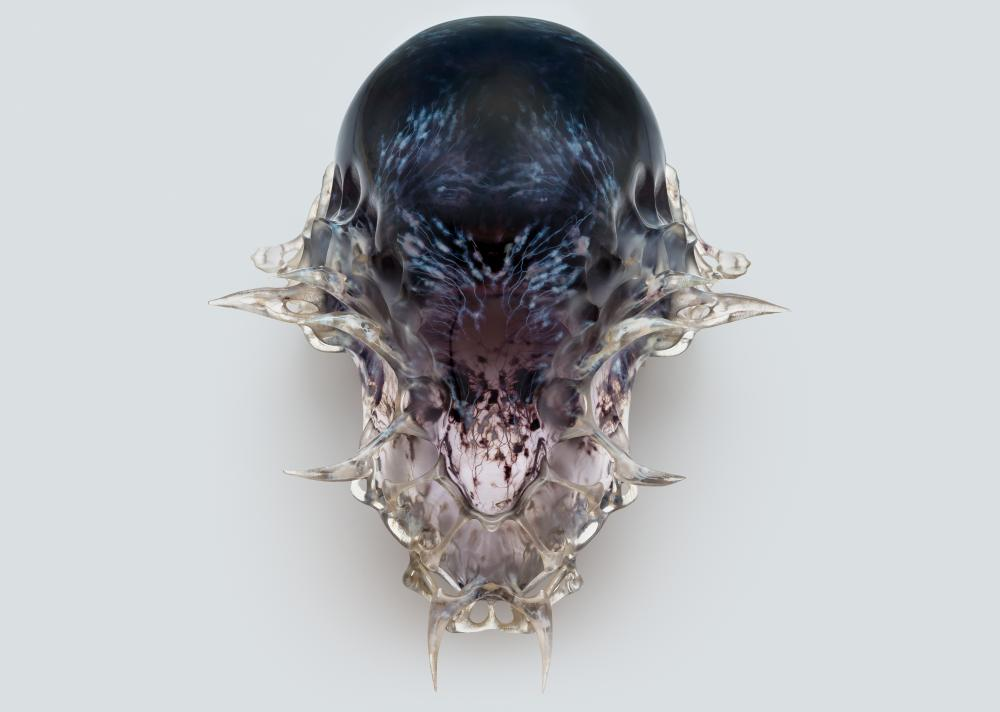 Neri Oxman's 3D printed death mask