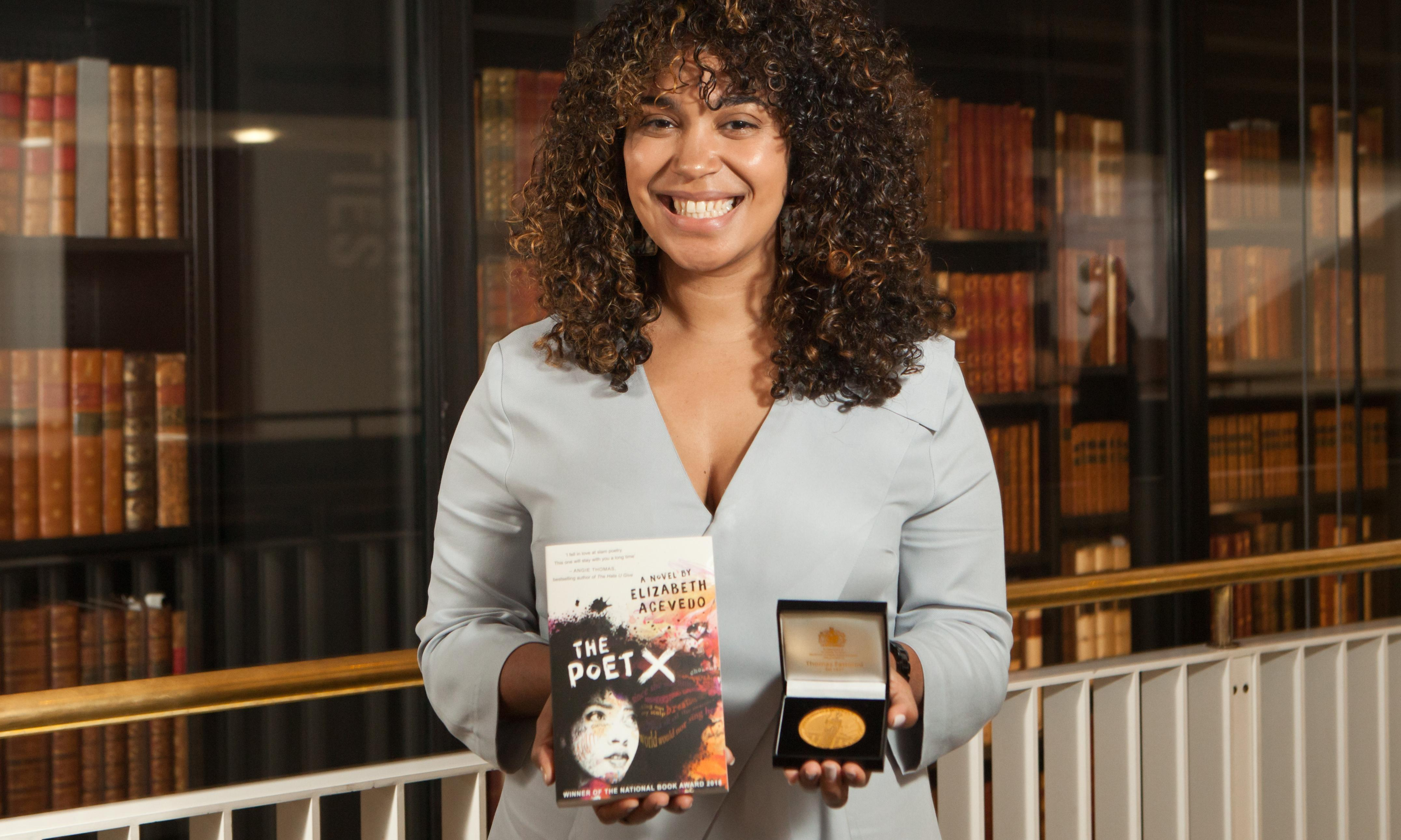 Carnegie medal goes to first writer of colour in its 83-year history