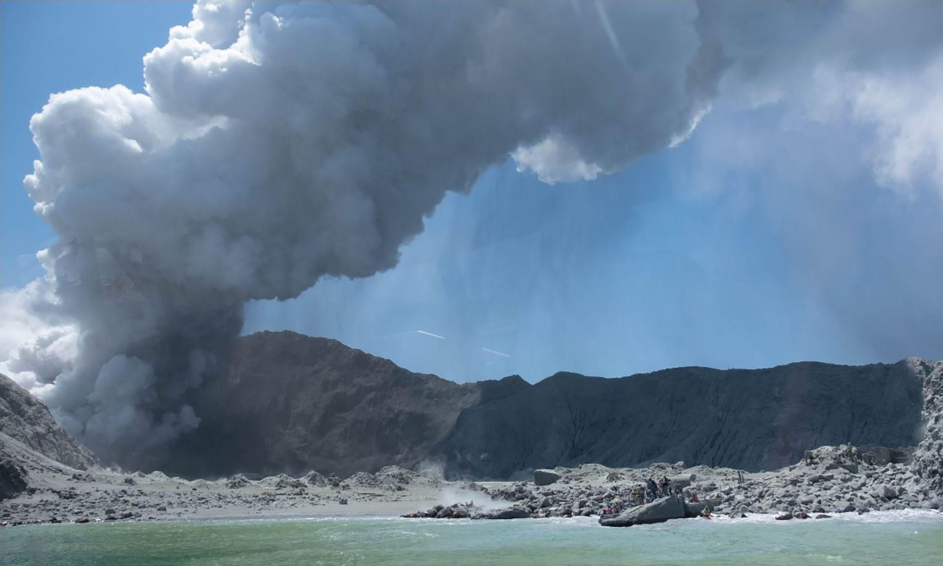 When I was growing up volcanic activity on Whakaari was continuous – yesterday was different