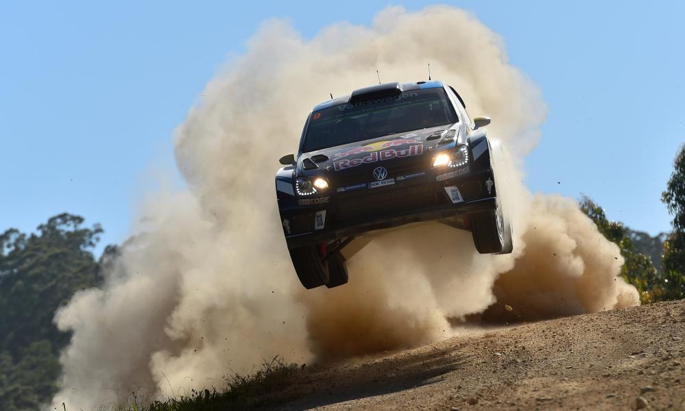 An action shot from this year's WRC event at Coffs Harbour, Australia.